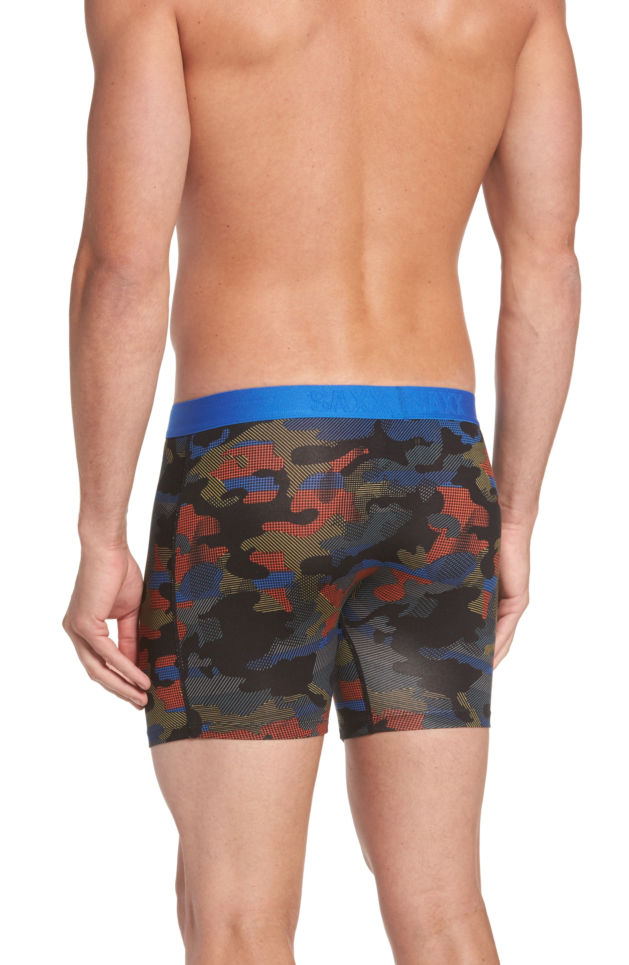 Vibe Modern Fit Camo Boxer Briefs,                             Alternate thumbnail 2, color,                             Cross Road Camo