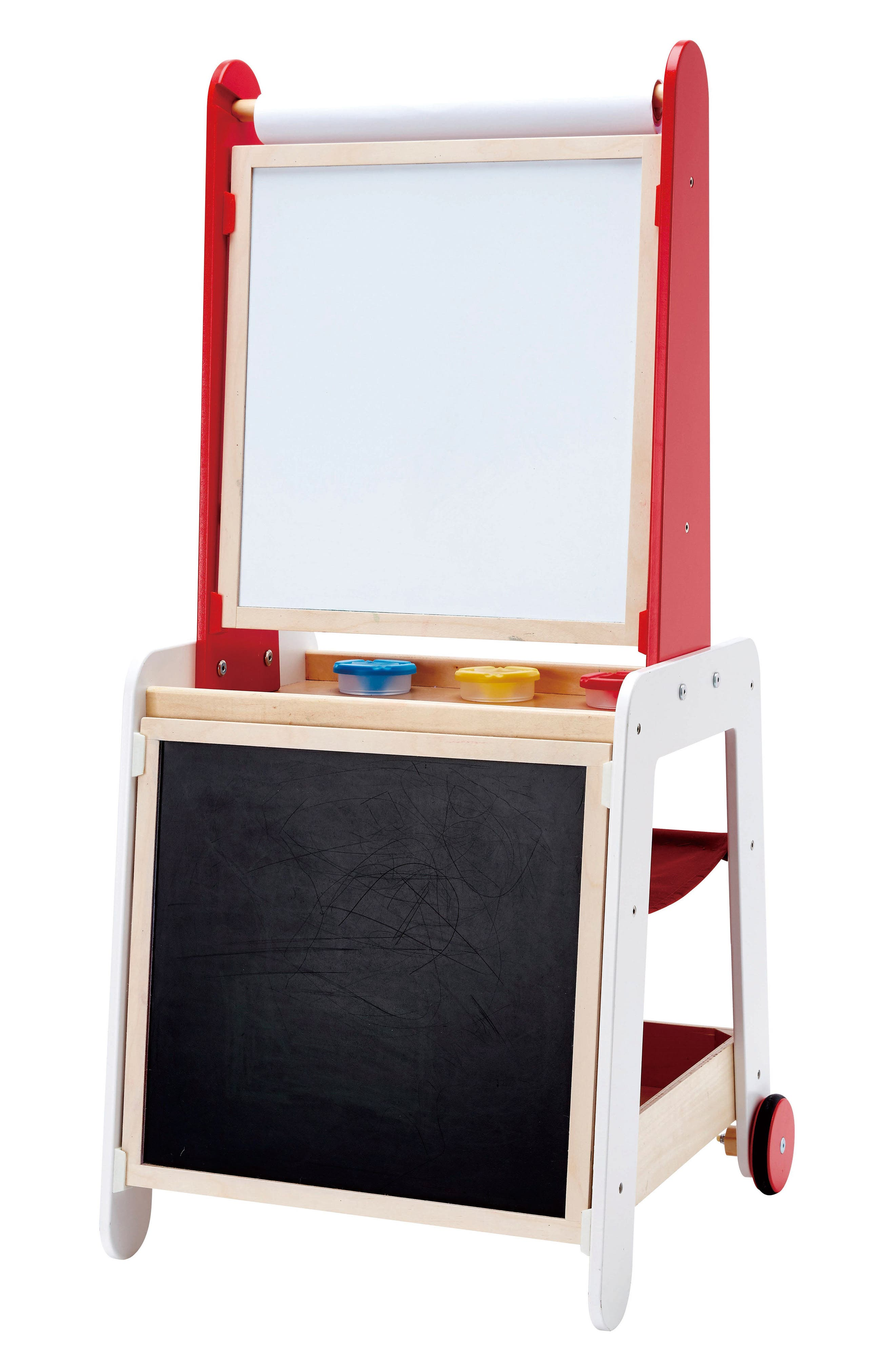 Create & Display Easel,                         Main,                         color, Red/ White