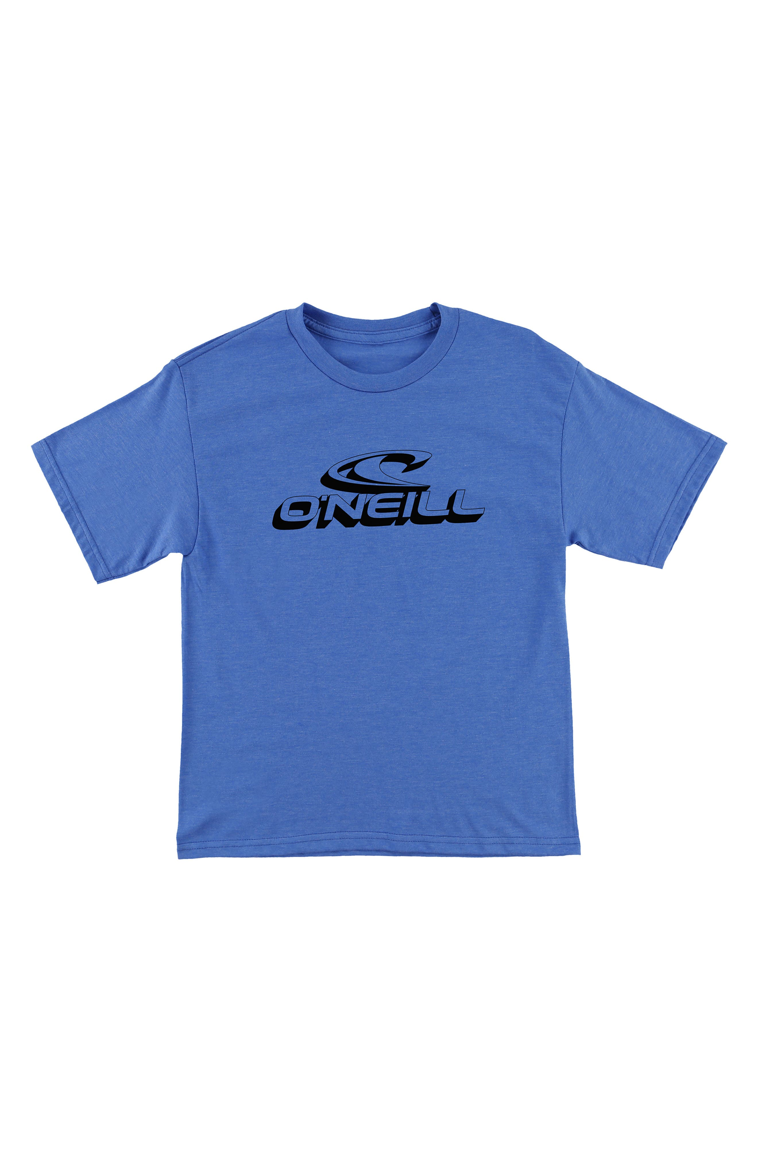 Extra T-Shirt,                             Main thumbnail 1, color,                             Heather Royal Blue