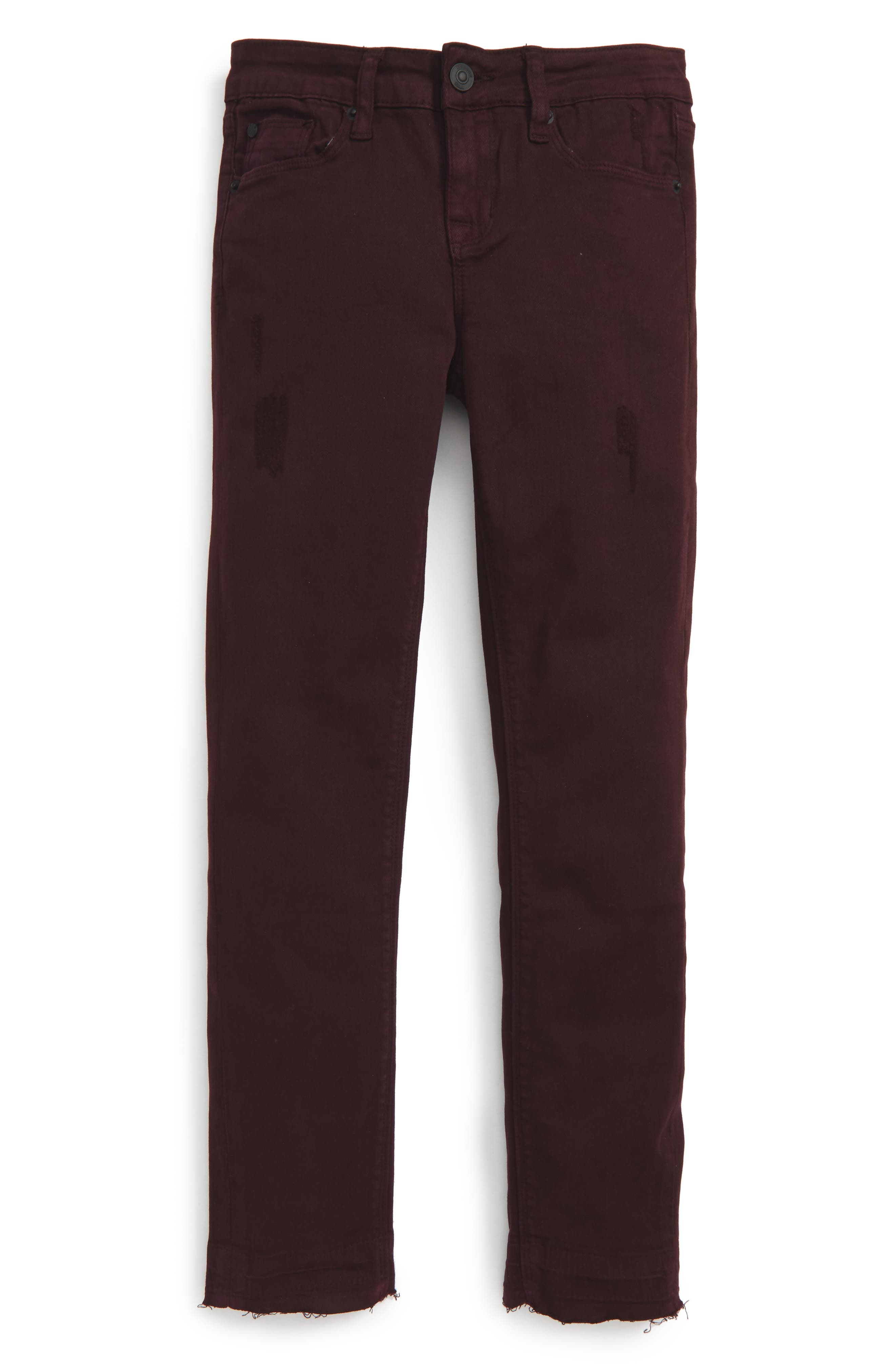 Hudson Jeans Released Hem Skinny Jeans (Big Girls)