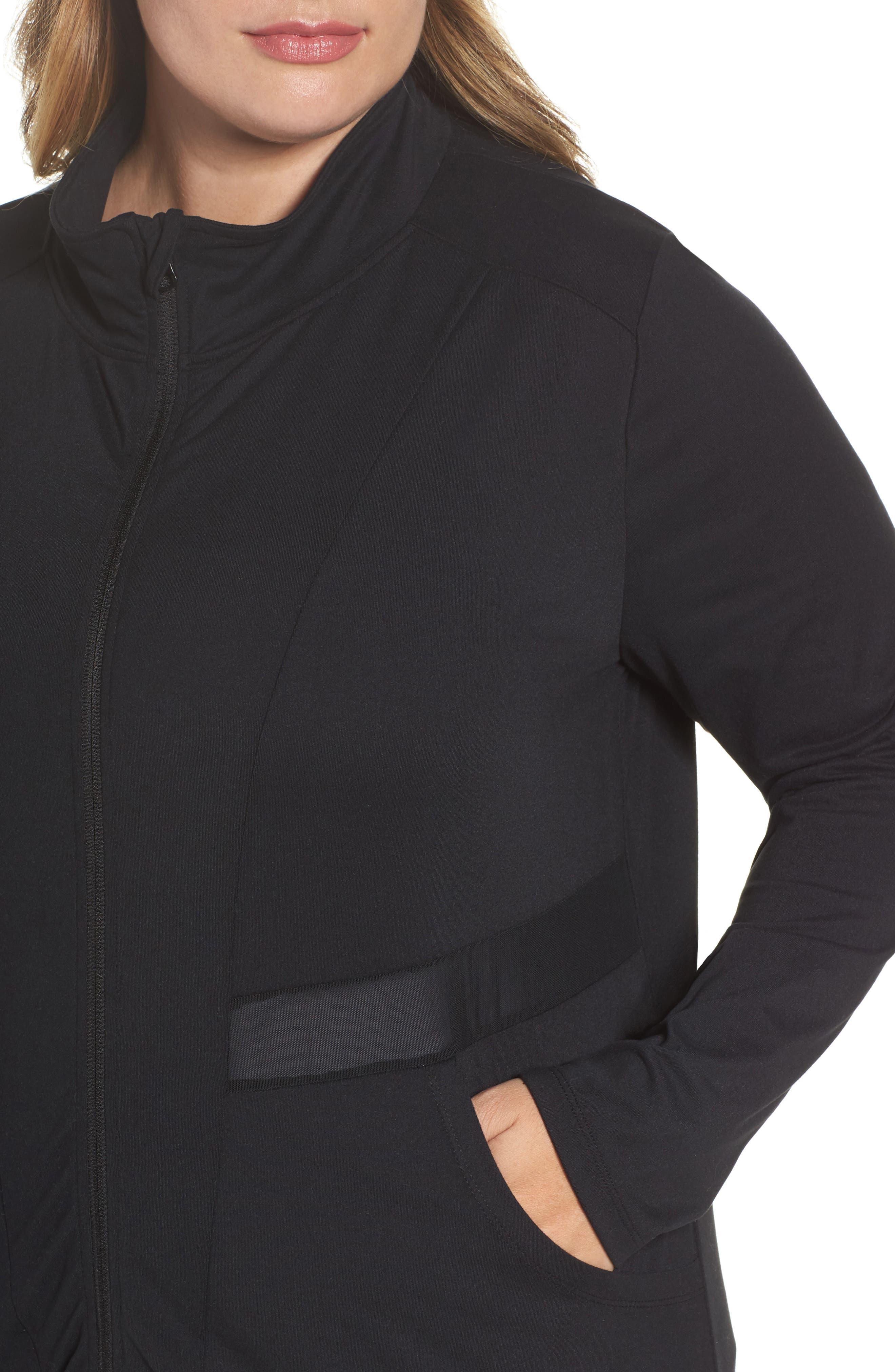 Alternate Image 4  - Marika Curves Adrenaline Jacket (Plus Size)