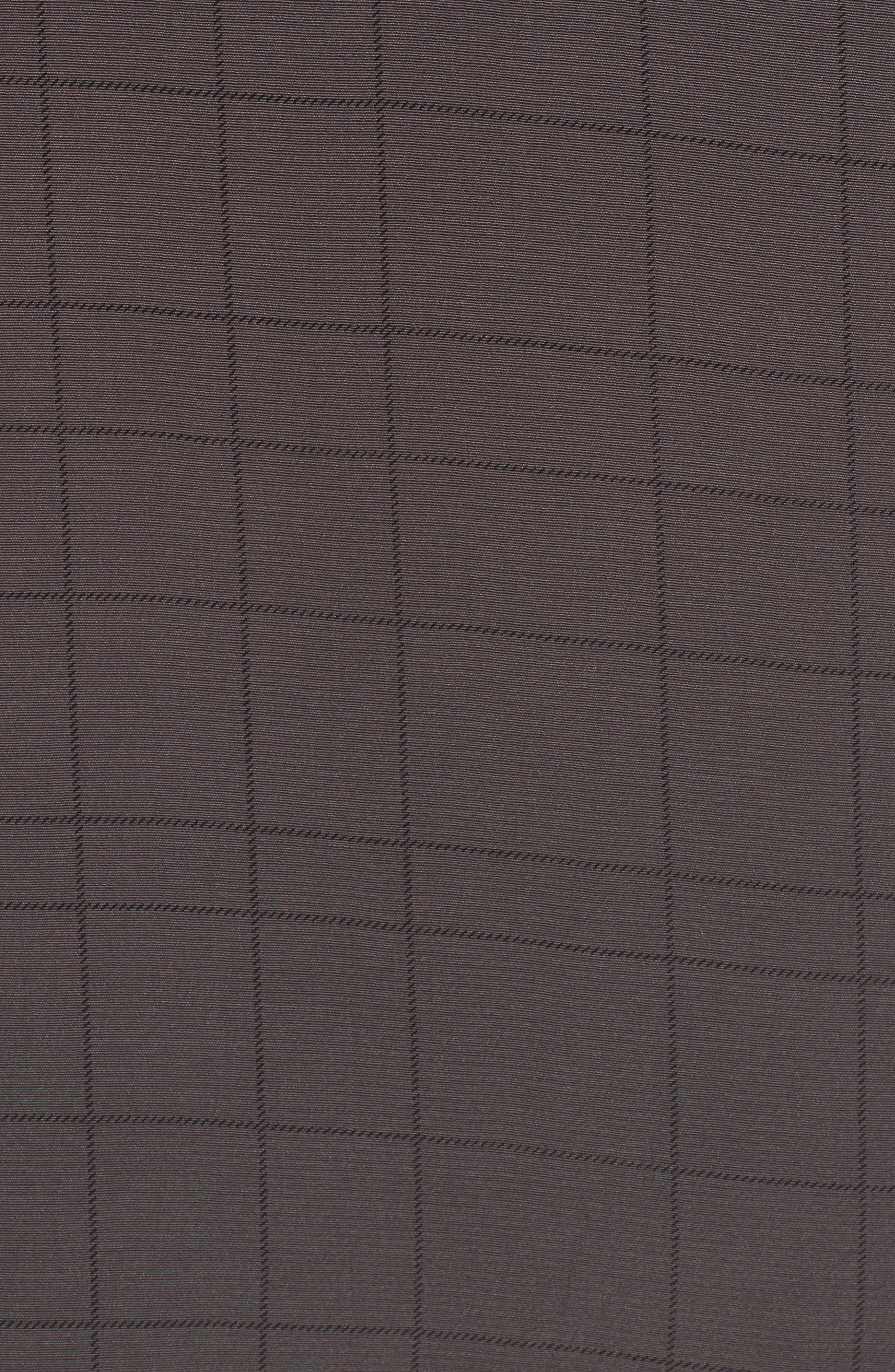 Alternate Image 5  - Eileen Fisher Windowpane Classic Collar Shirt