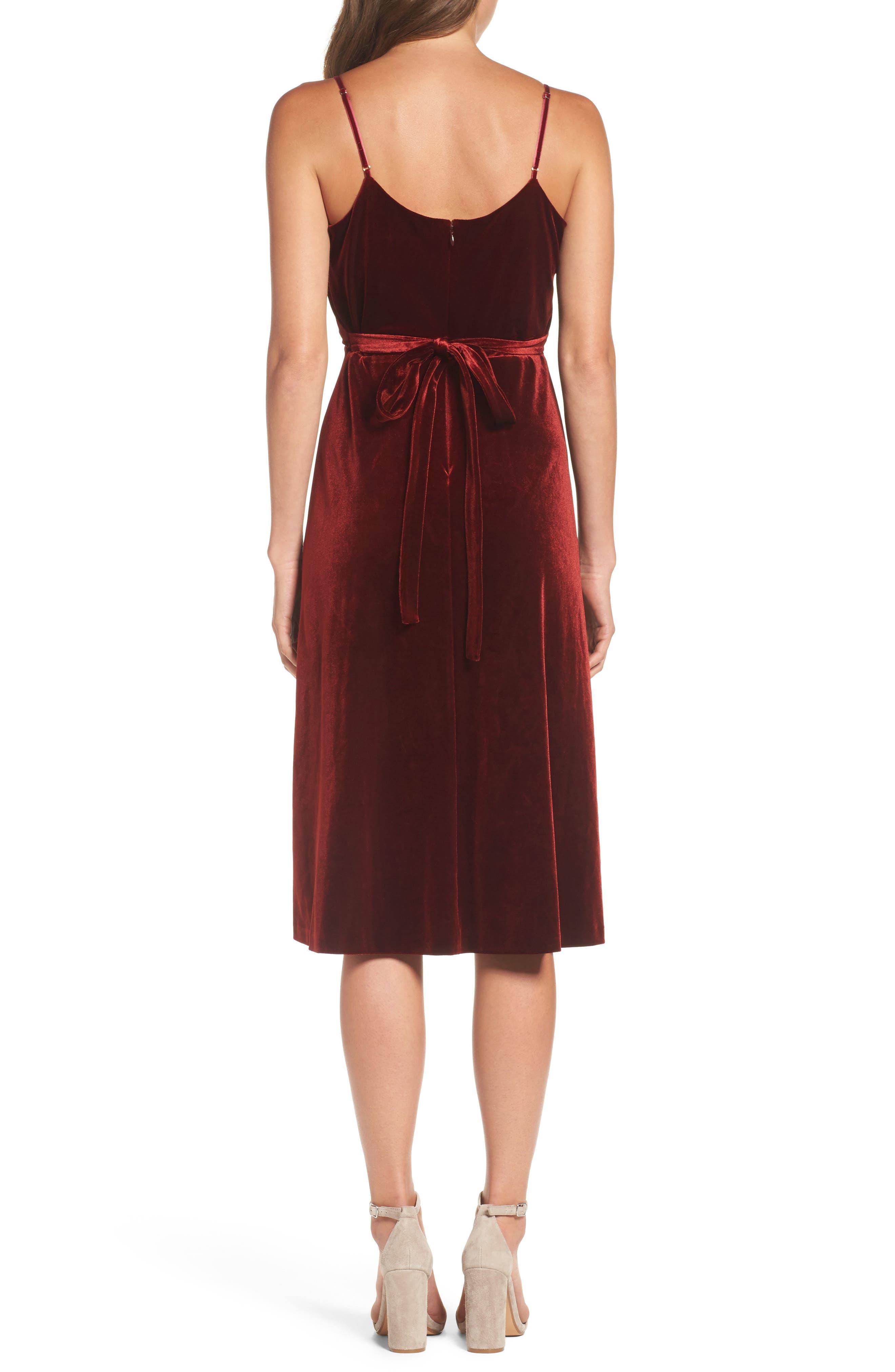 Alternate Image 3  - Ali & Jay Velvet Midi Dress