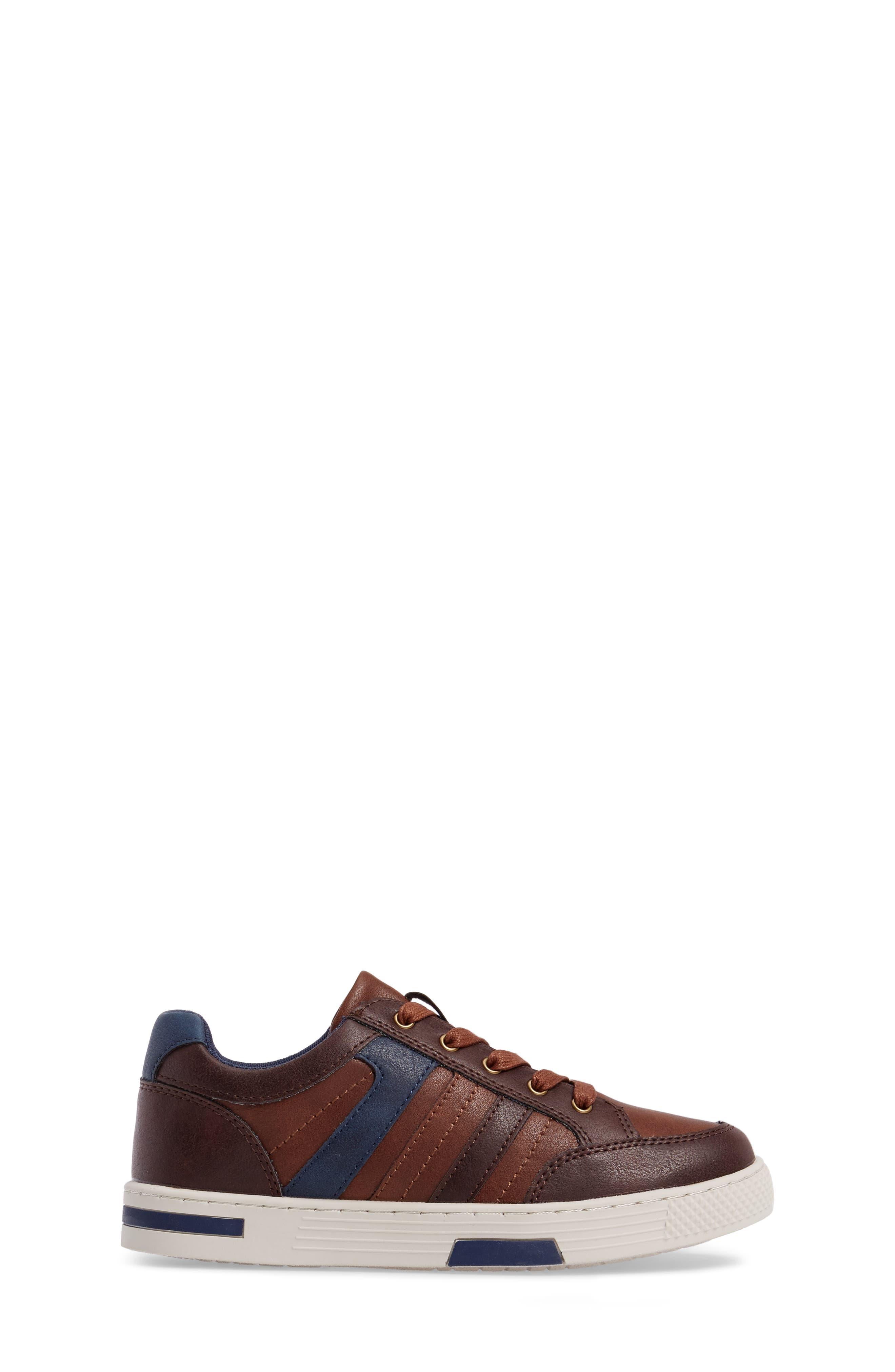 Trakk Sneaker,                             Alternate thumbnail 3, color,                             Brown Multi