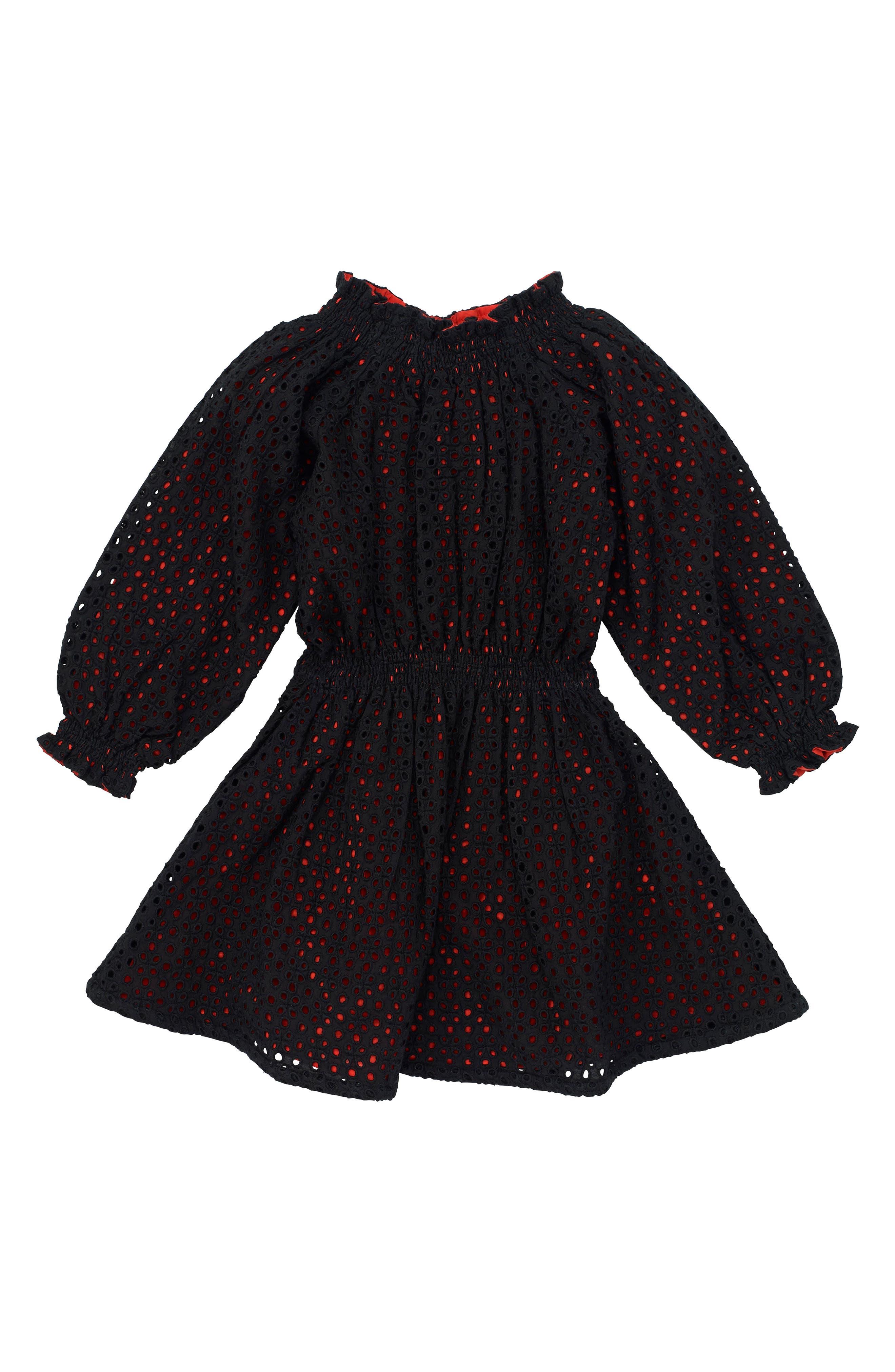Spellbound Dress,                             Main thumbnail 1, color,                             Black