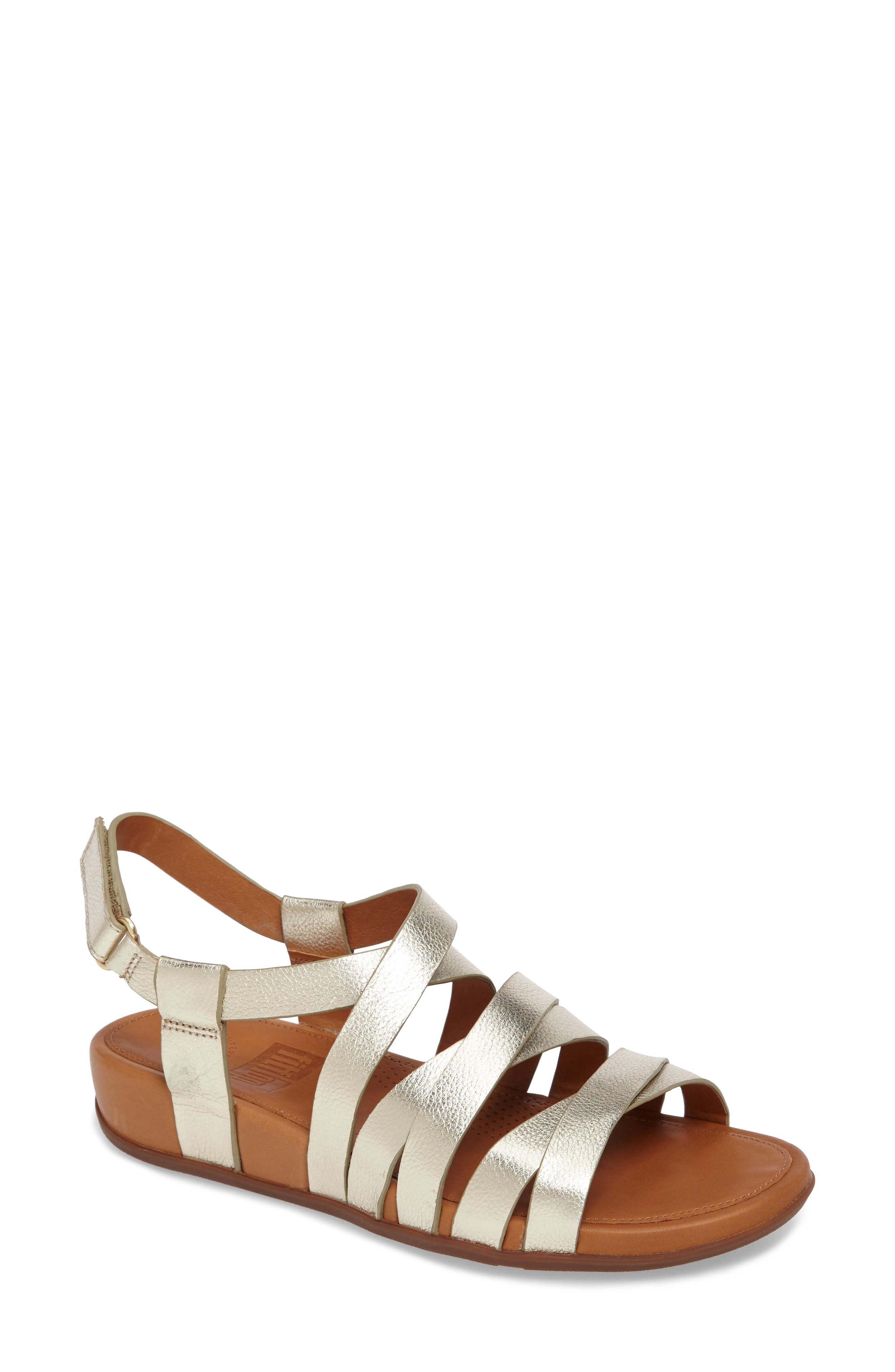 Alternate Image 1 Selected - FitFlop Lumy Gladiator Sandal (Women)