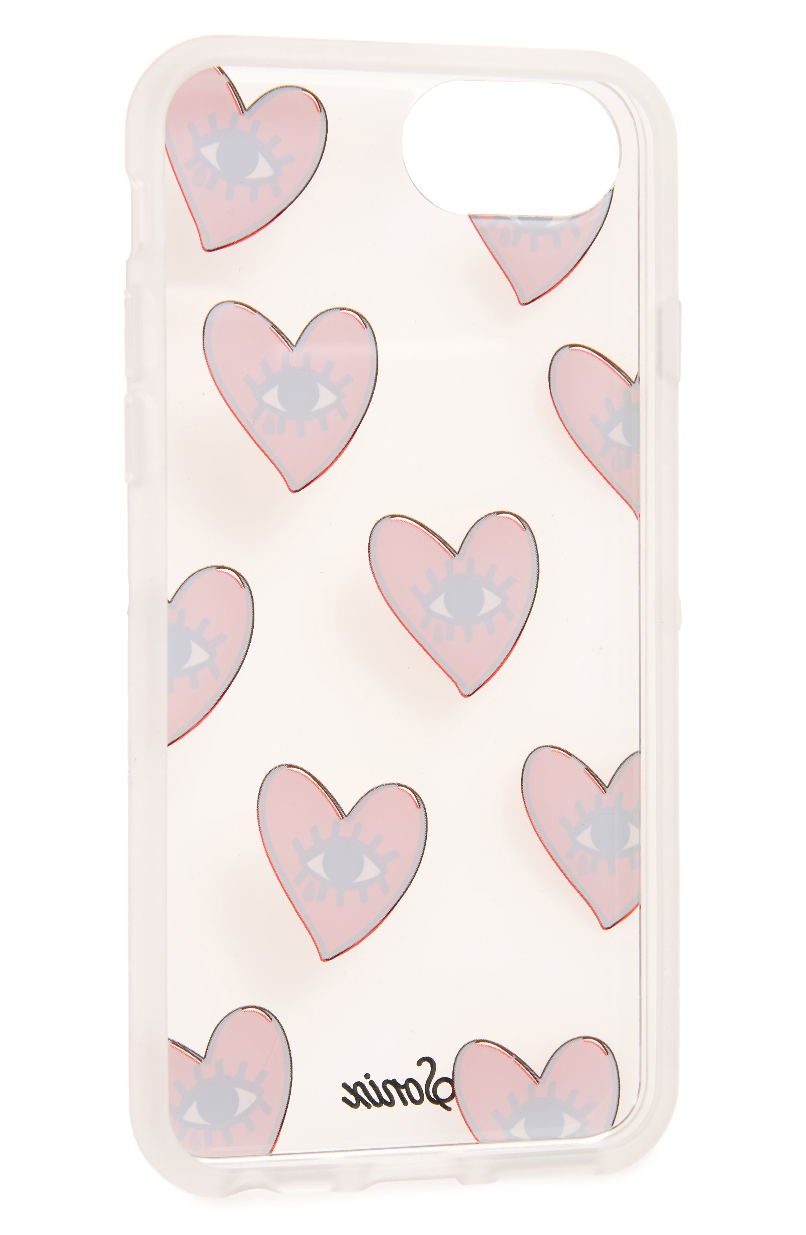 Cry Baby iPhone 6/6s/7/8 & 6/6s/7/8 Plus Case,                             Alternate thumbnail 2, color,                             Red