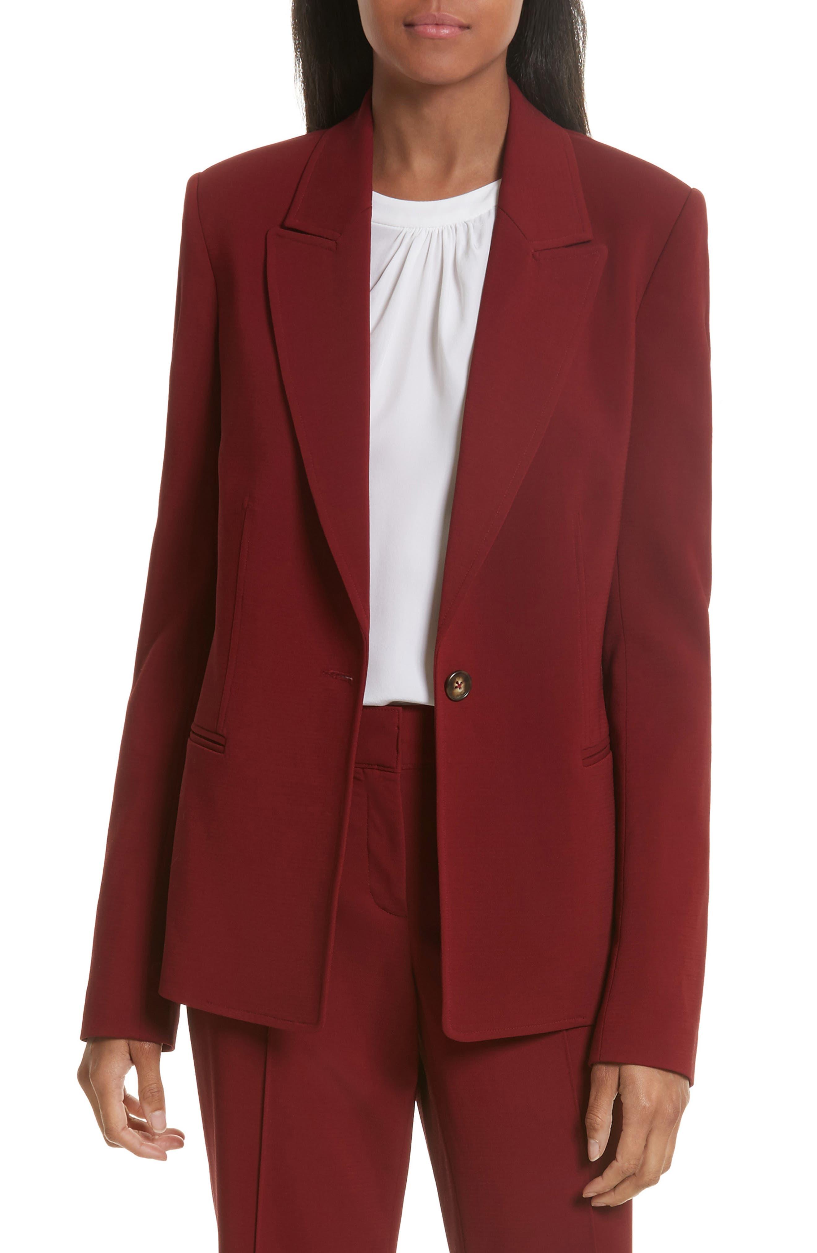 Duke Jacket,                         Main,                         color, Crimson