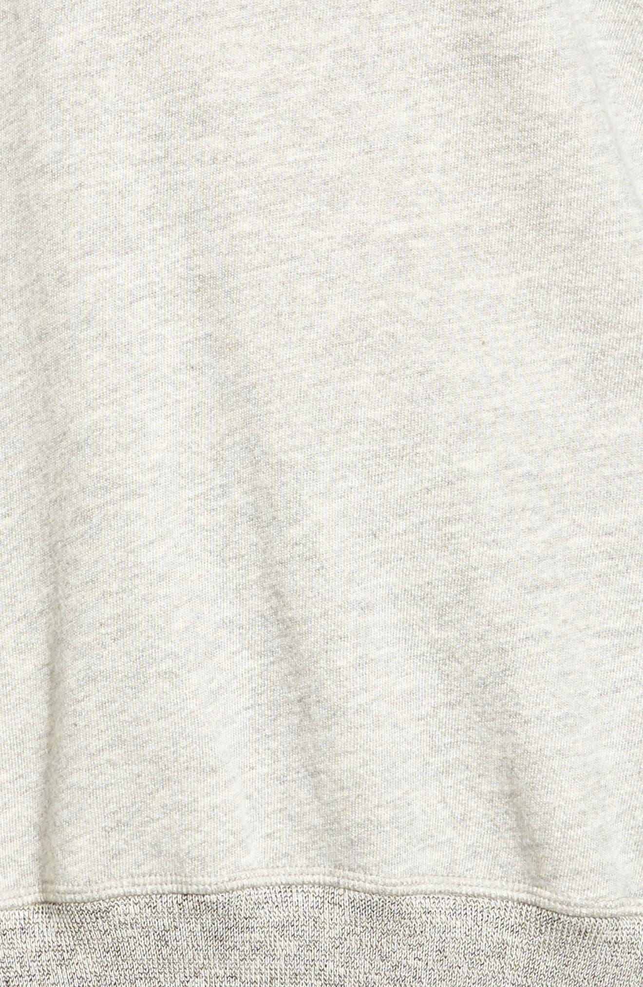 Alternate Image 5  - n:PHILANTHROPY Felix Lace-Up Sweatshirt