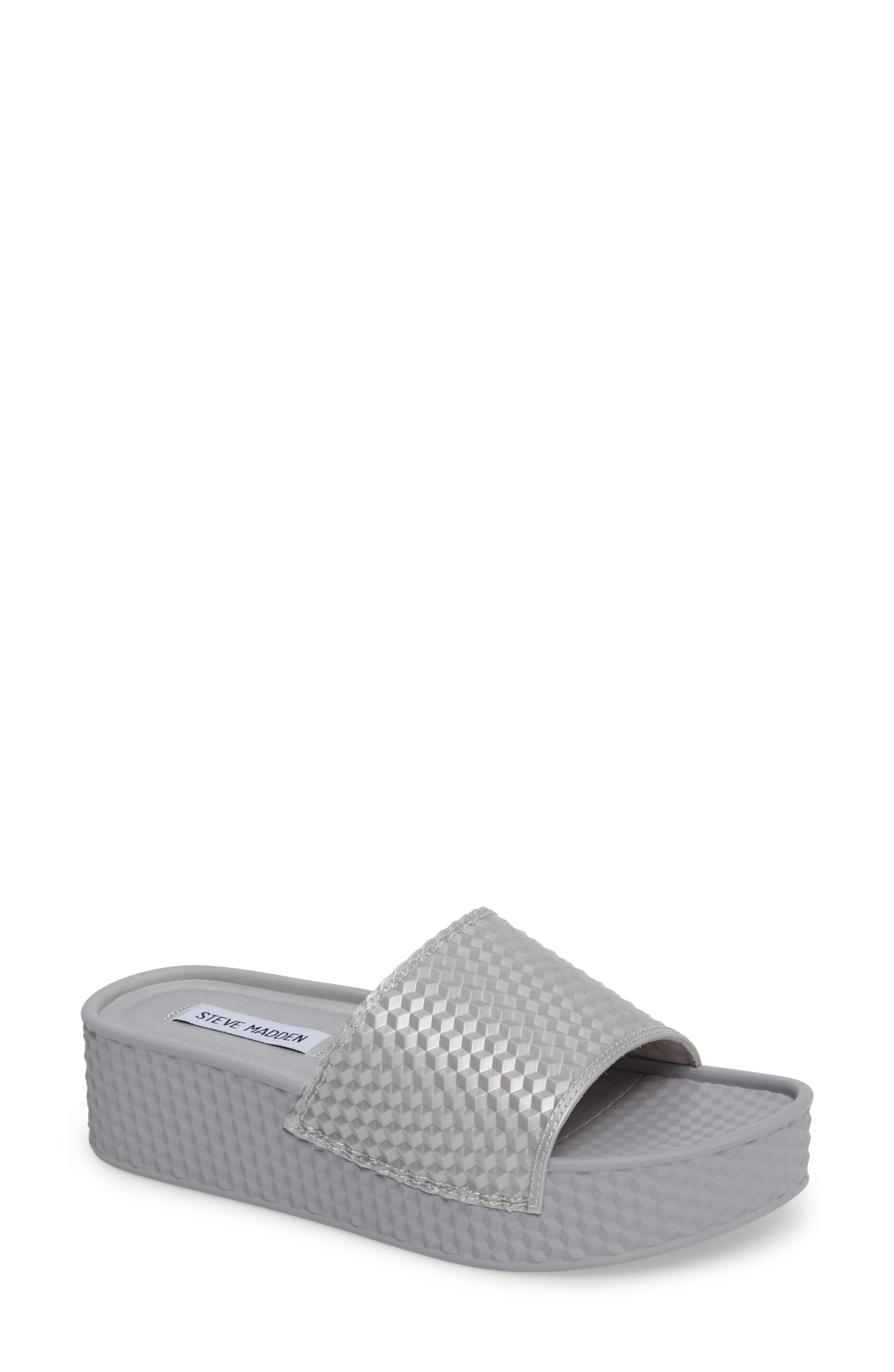 Steve Madden Sharpie Slide Sandal (Women)