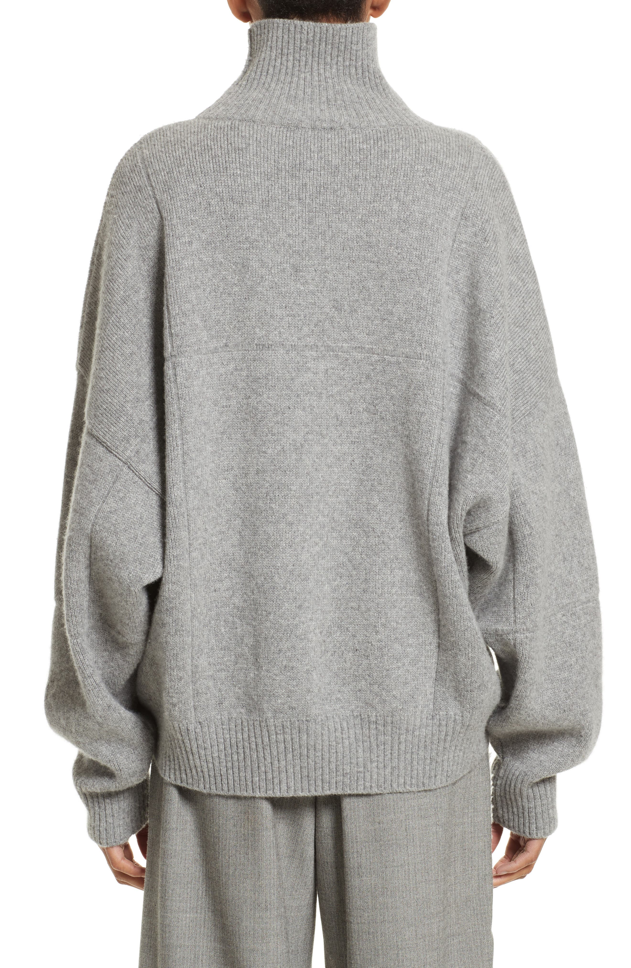 Alternate Image 2  - Vejas Concrete Wool Turtleneck Sweater
