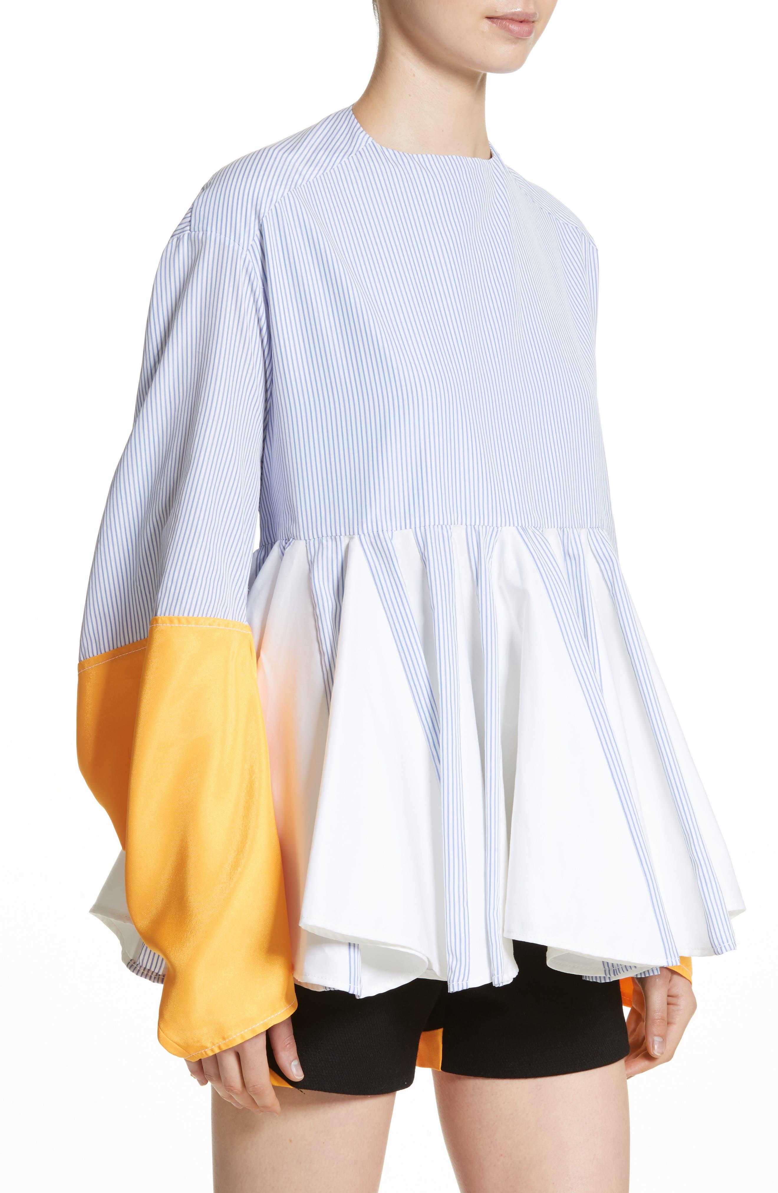 Alternate Image 4  - Marine Serre Godet Shirt