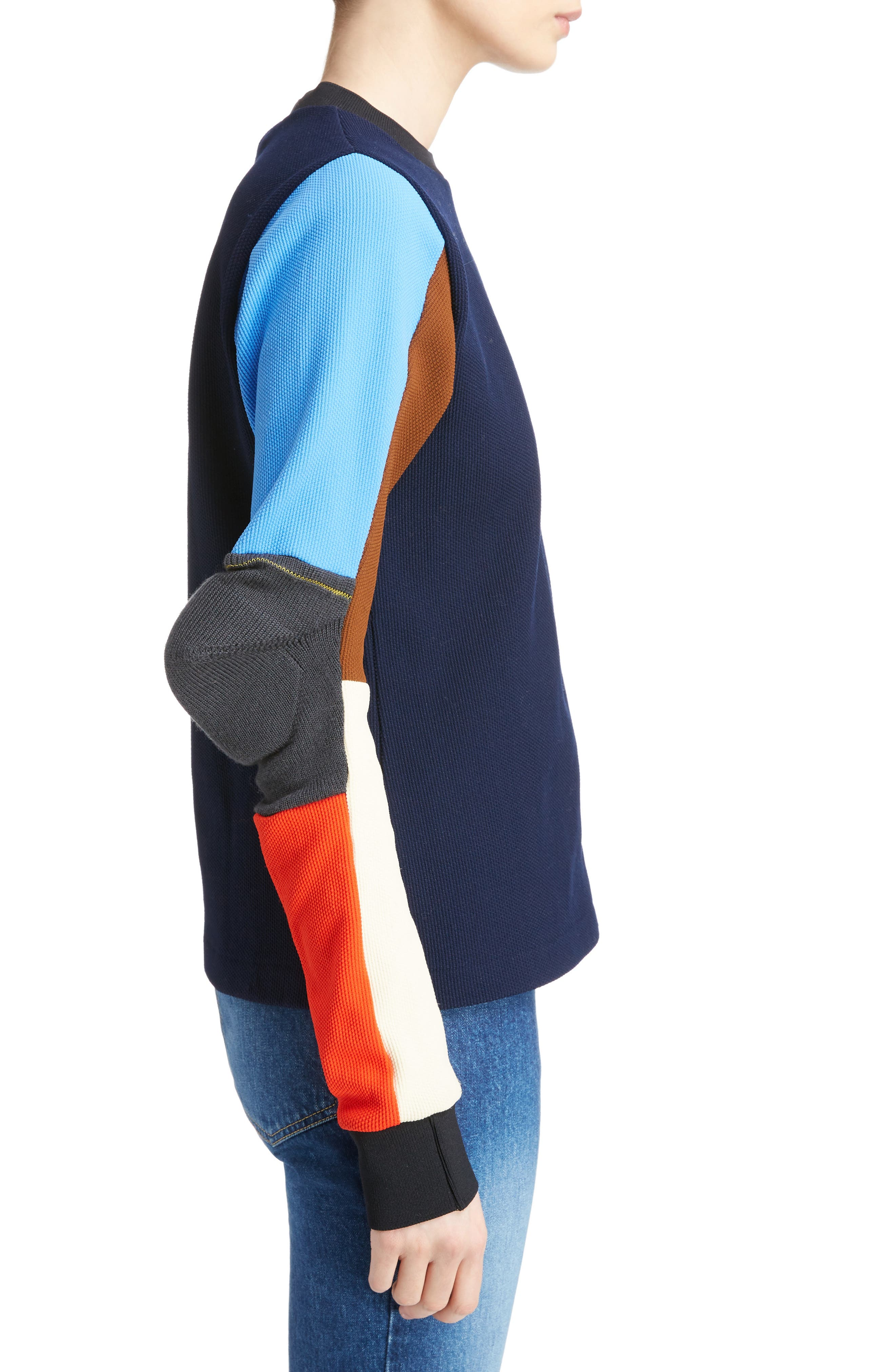 Alternate Image 3  - TOGA Colorblock Jacquard Knit Sweater
