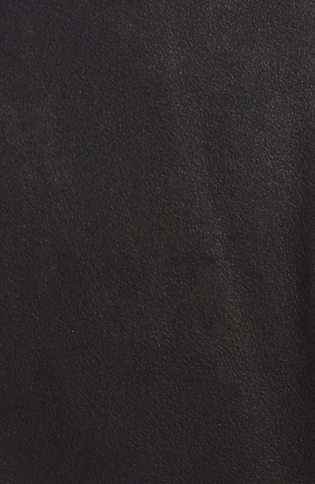 Alternate Image 5  - LAMARQUE Cascade Leather Jacket