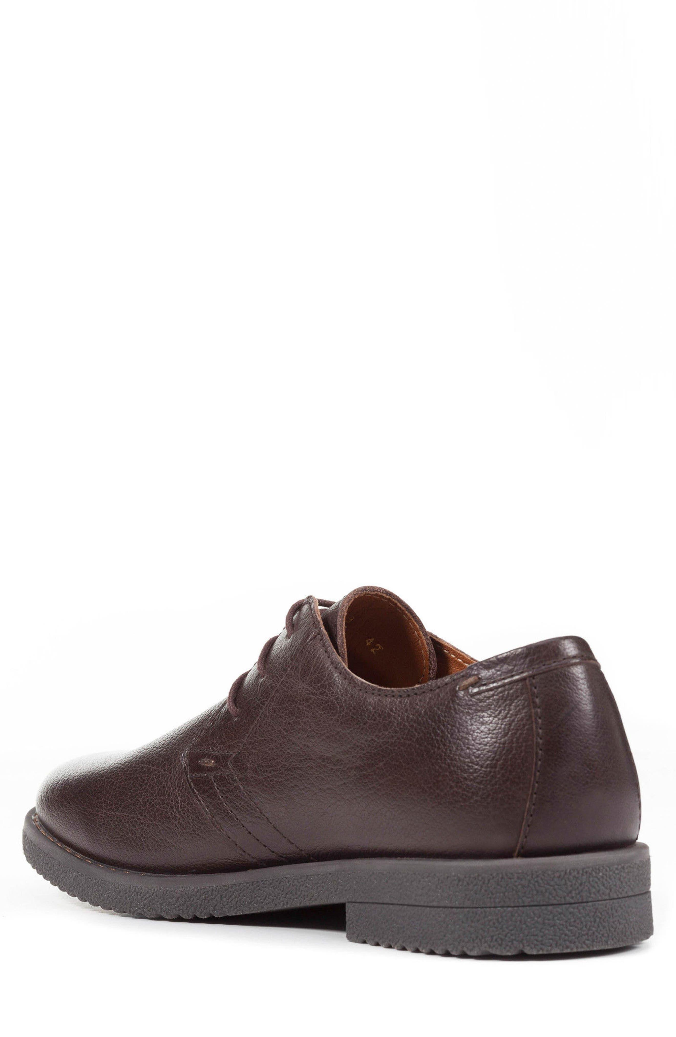 Alternate Image 2  - Geox Brandled Plain Toe Derby (Men)