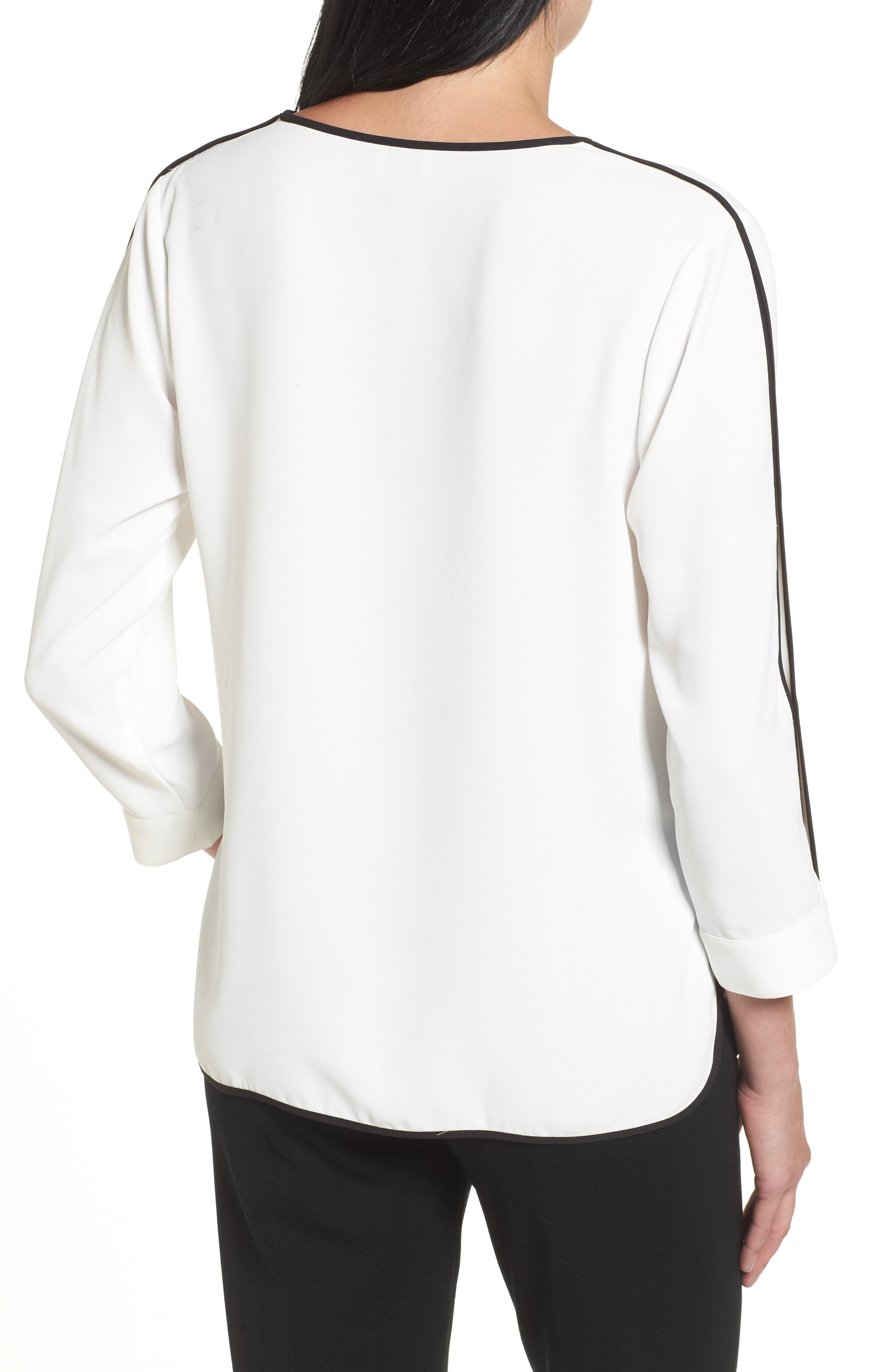 Alternate Image 2  - Ming Wang Split Sleeve Blouse