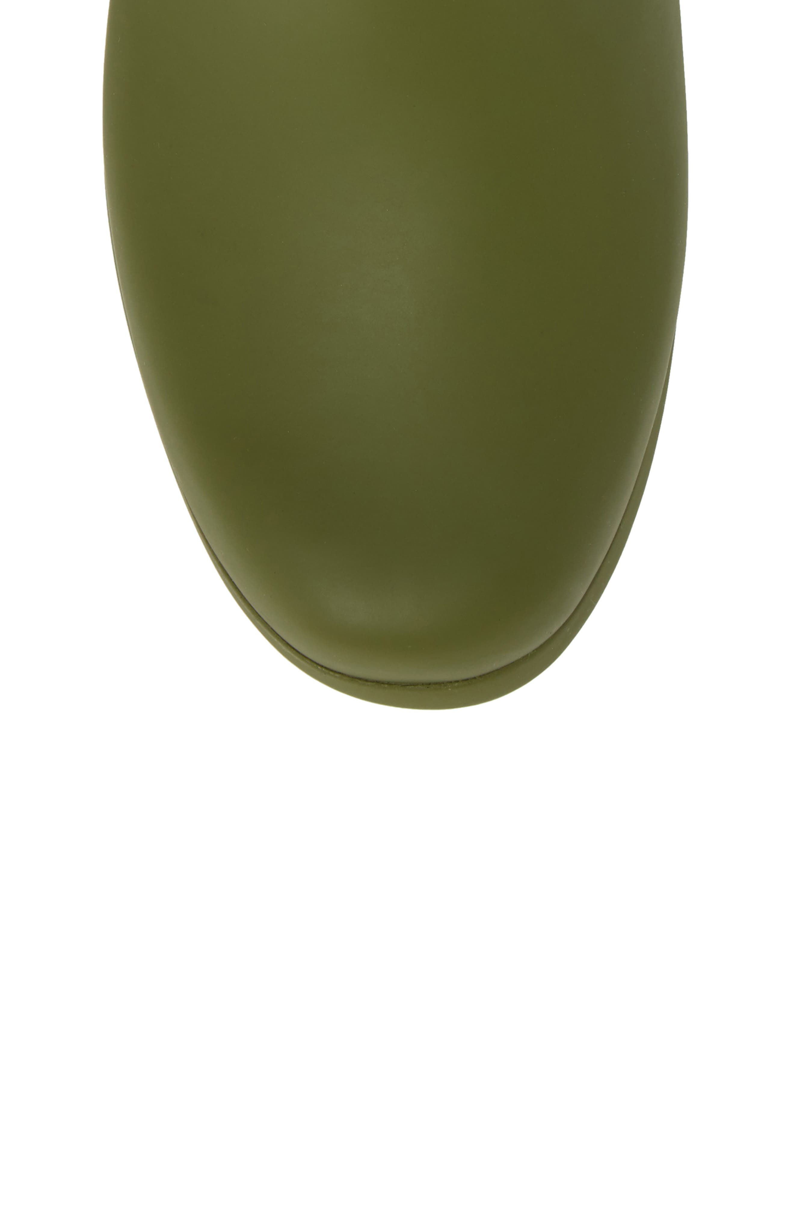 City Solid Mid Height Rain Boot,                             Alternate thumbnail 5, color,                             Olive