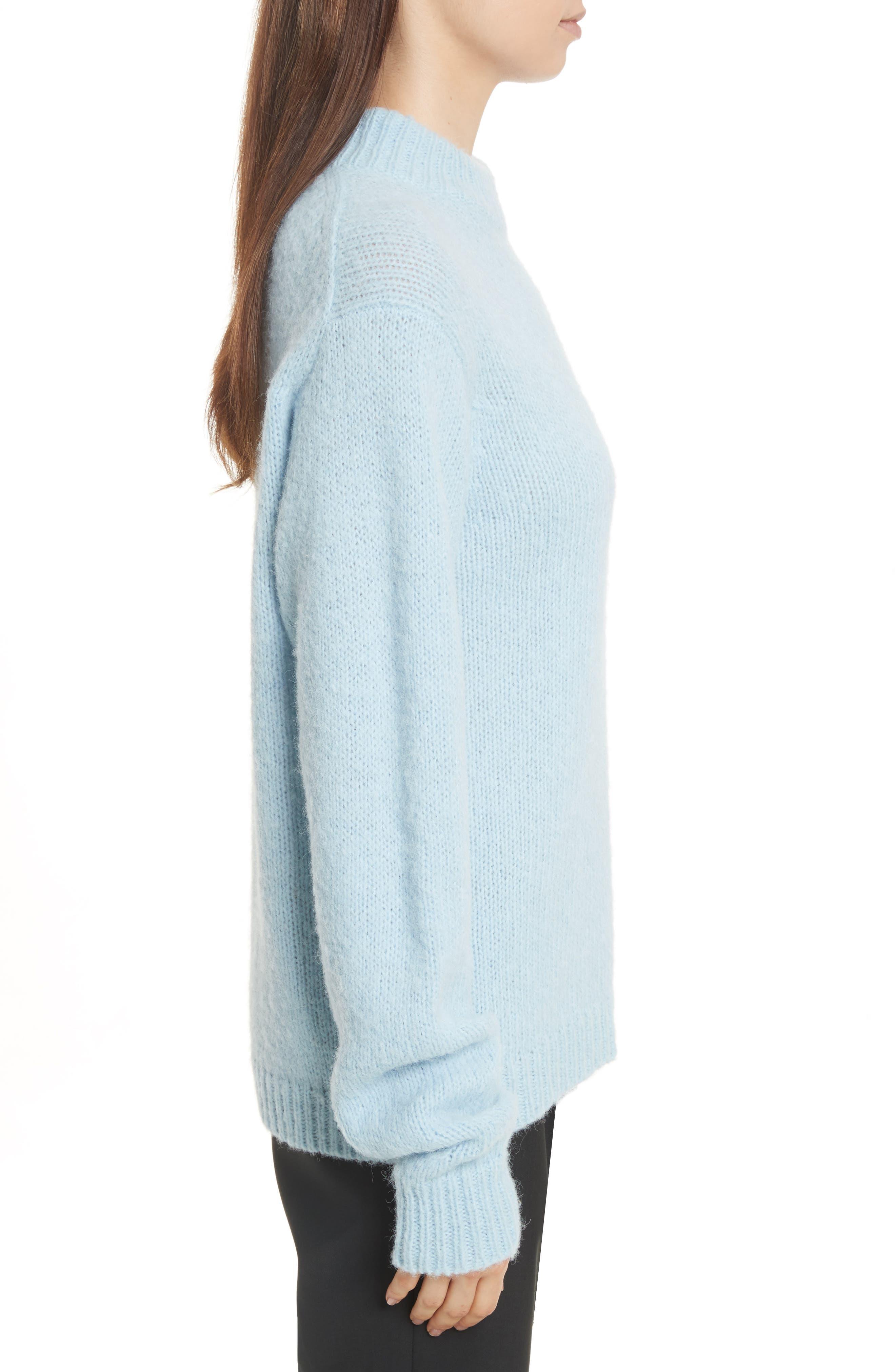 Alternate Image 3  - Tibi Cozette Easy Mock Neck Pullover