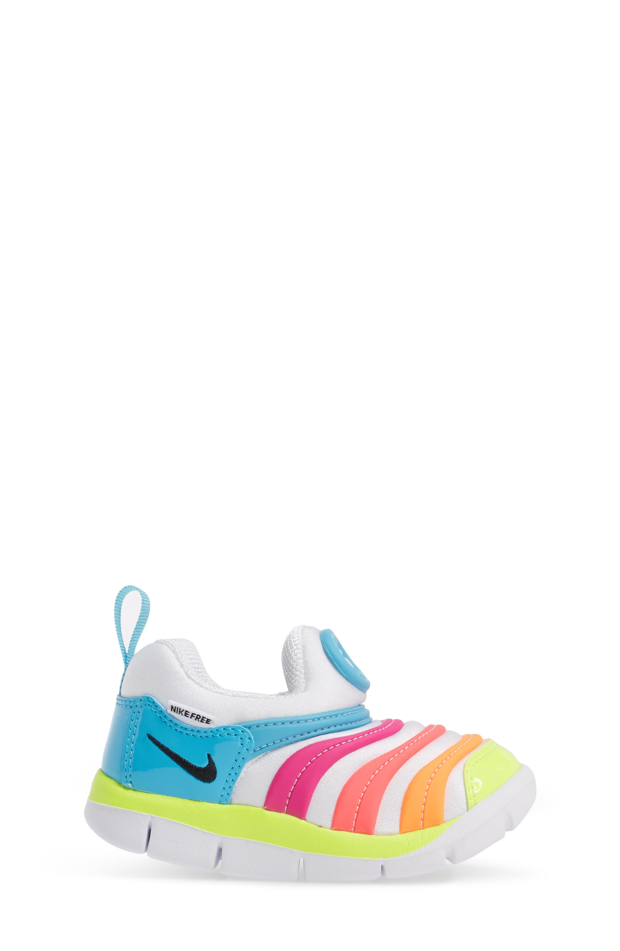 Alternate Image 3  - Nike Dynamo Free Sneaker (Baby, Walker, & Toddler)