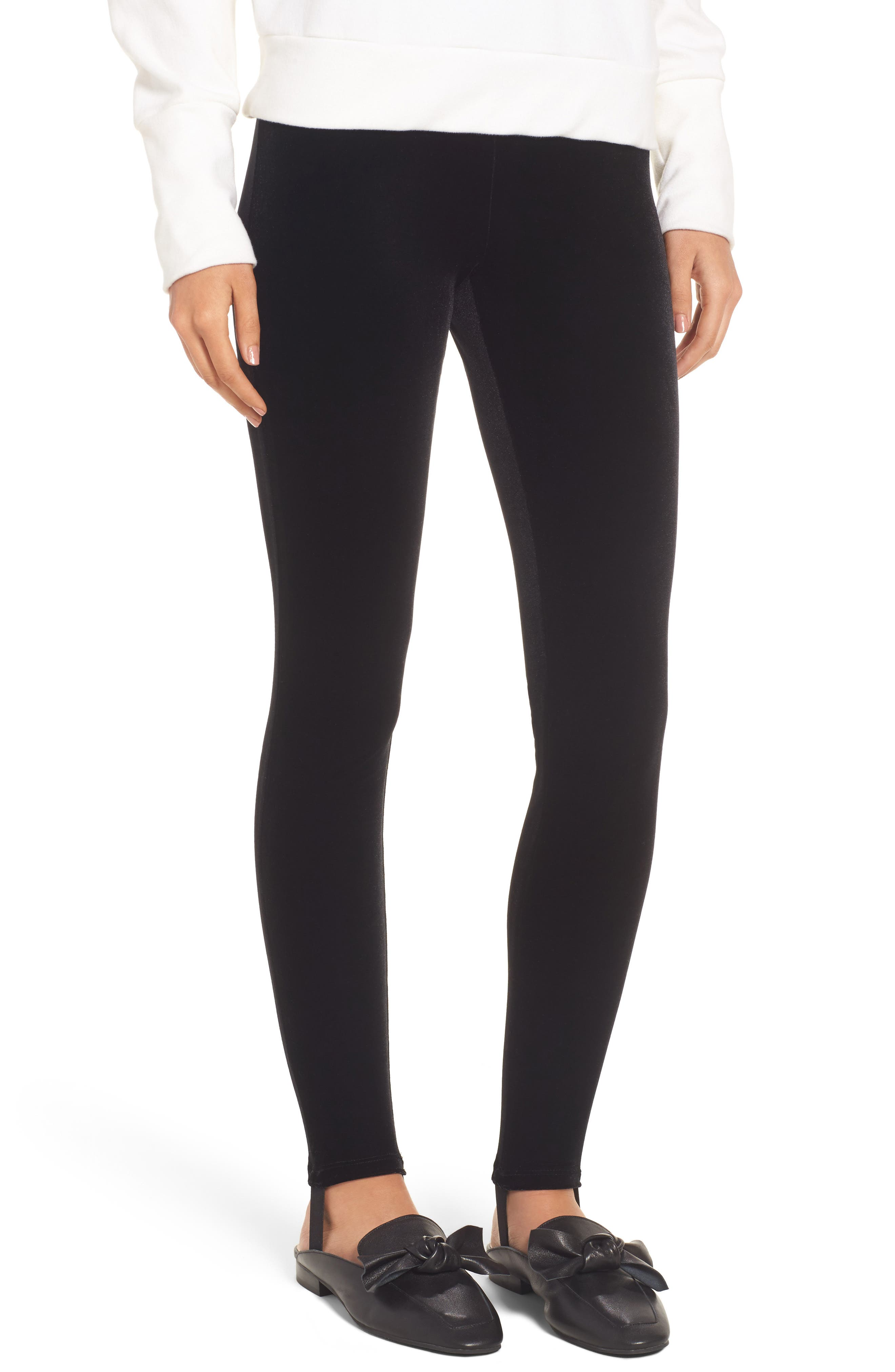 BP. Velour Stirrup Leggings