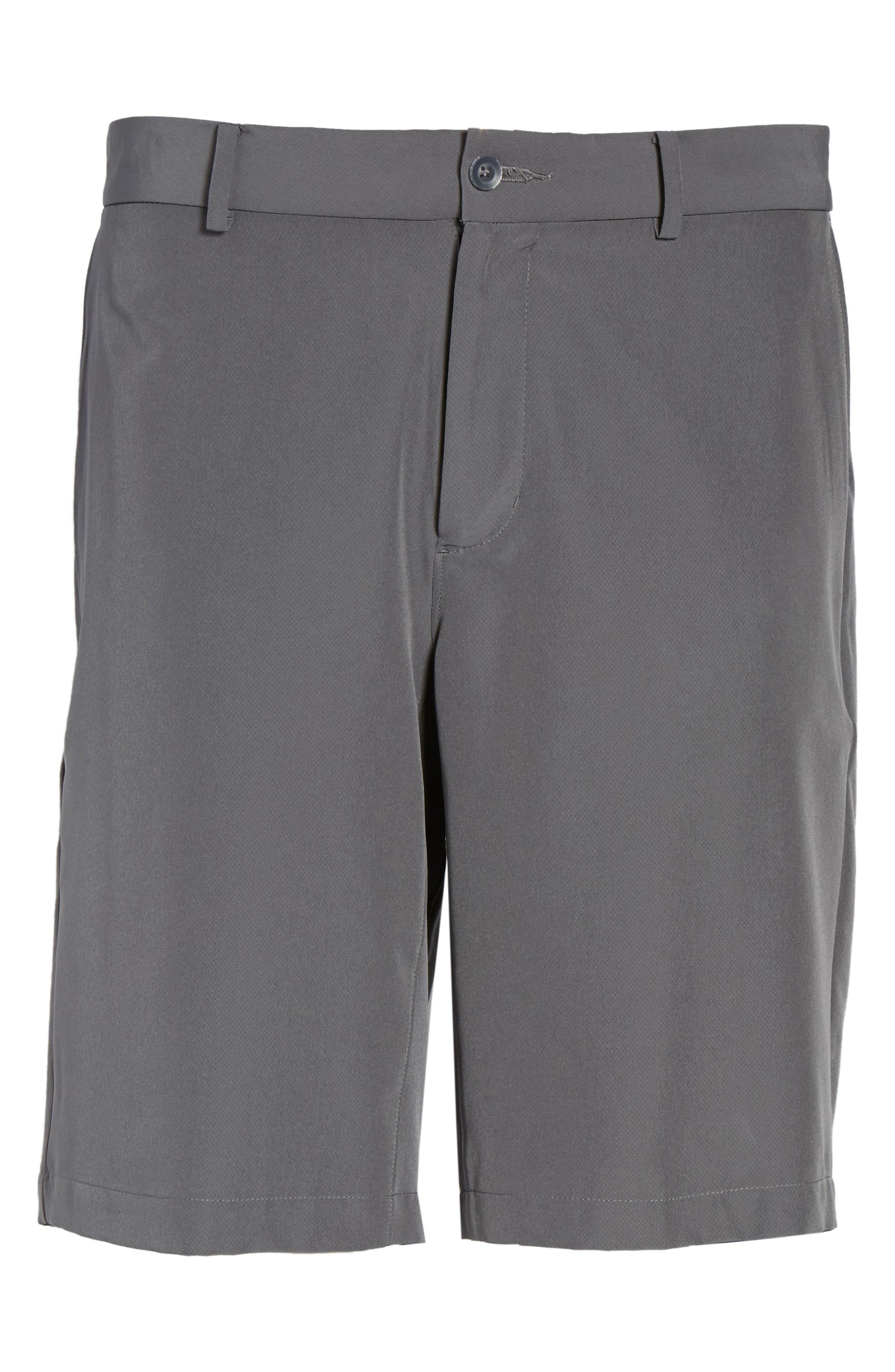 Hybrid Flex Golf Shorts,                             Alternate thumbnail 5, color,                             Dark Grey/ Black
