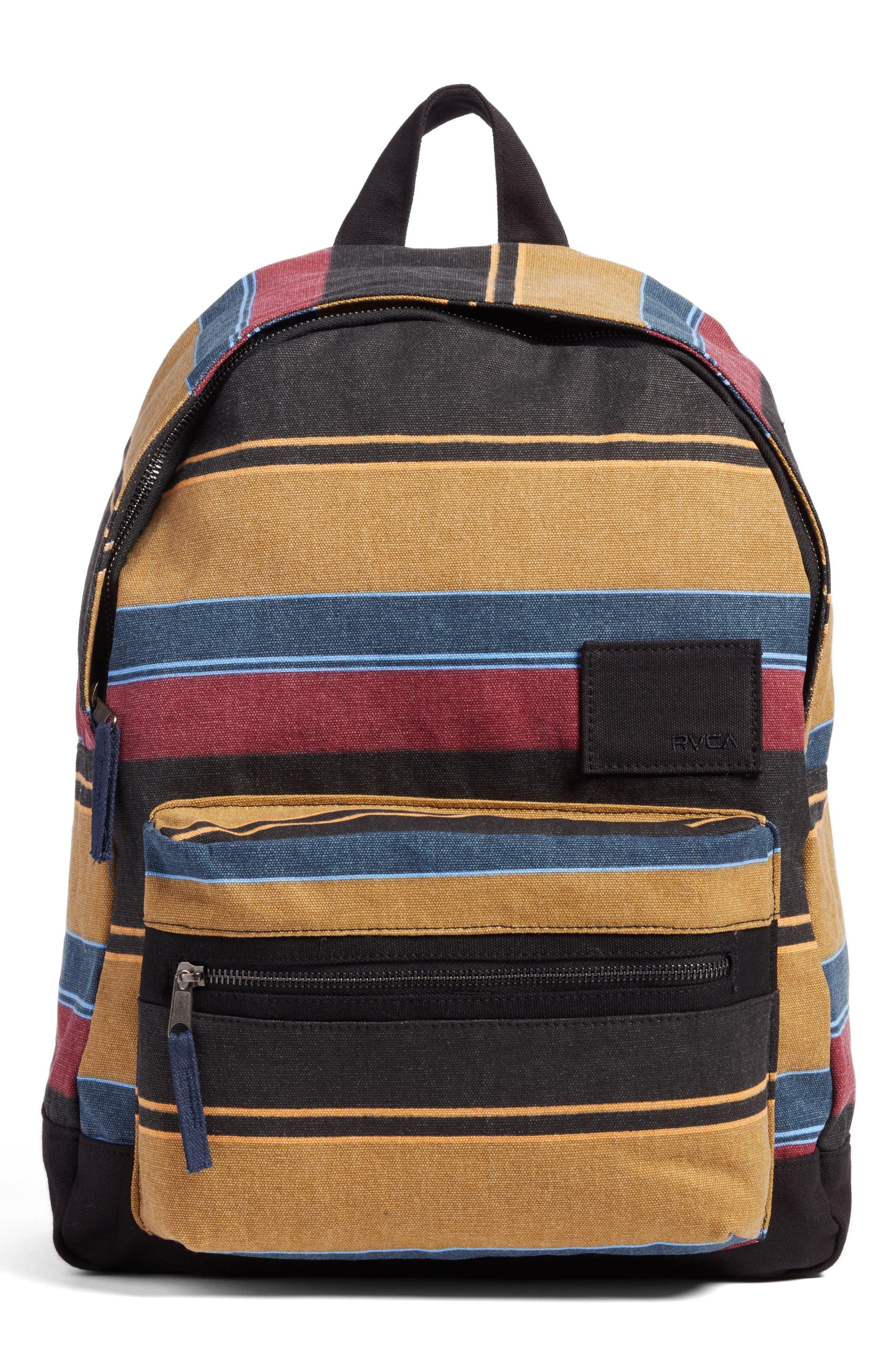 RVCA Tides Stripe Backpack
