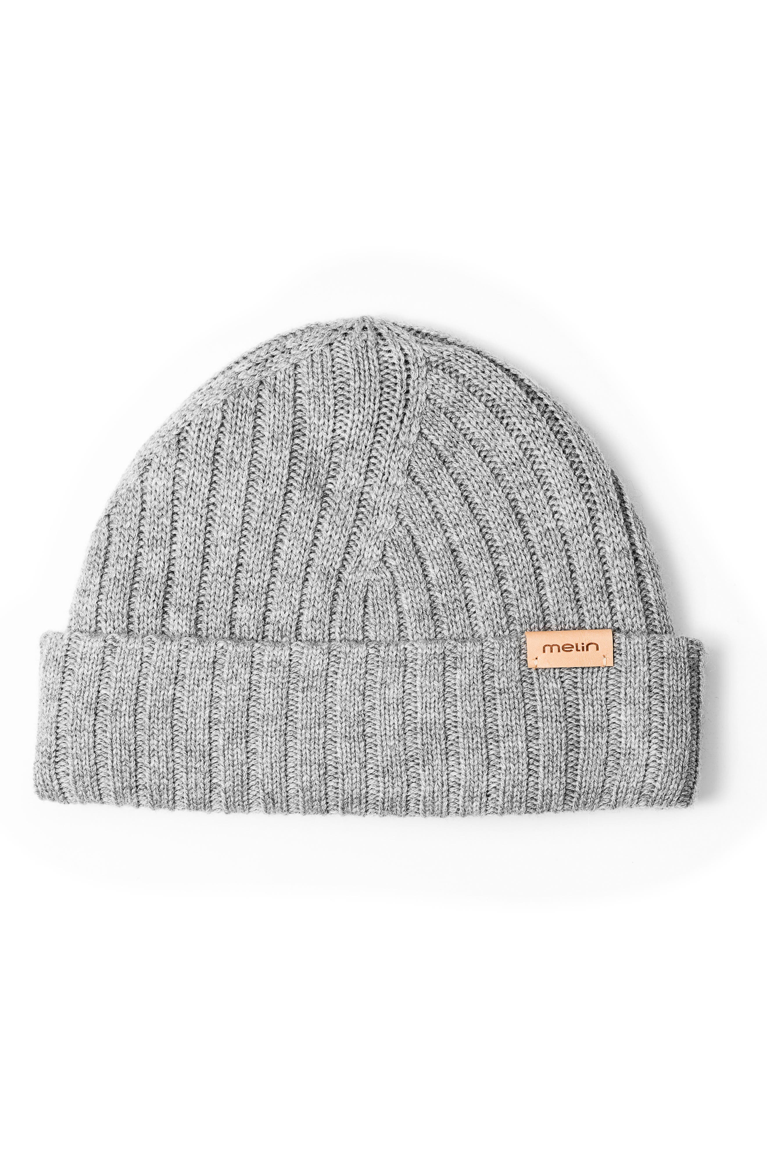 All Day Beanie,                         Main,                         color, Heather Grey