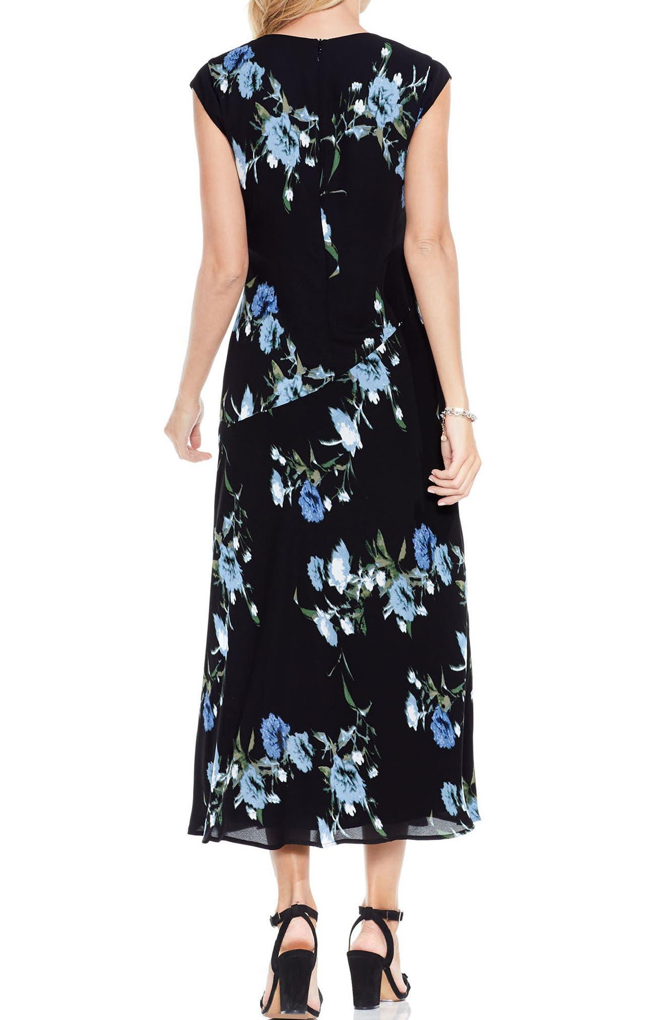 Alternate Image 2  - Vince Camuto Windswept Bouquet Dress