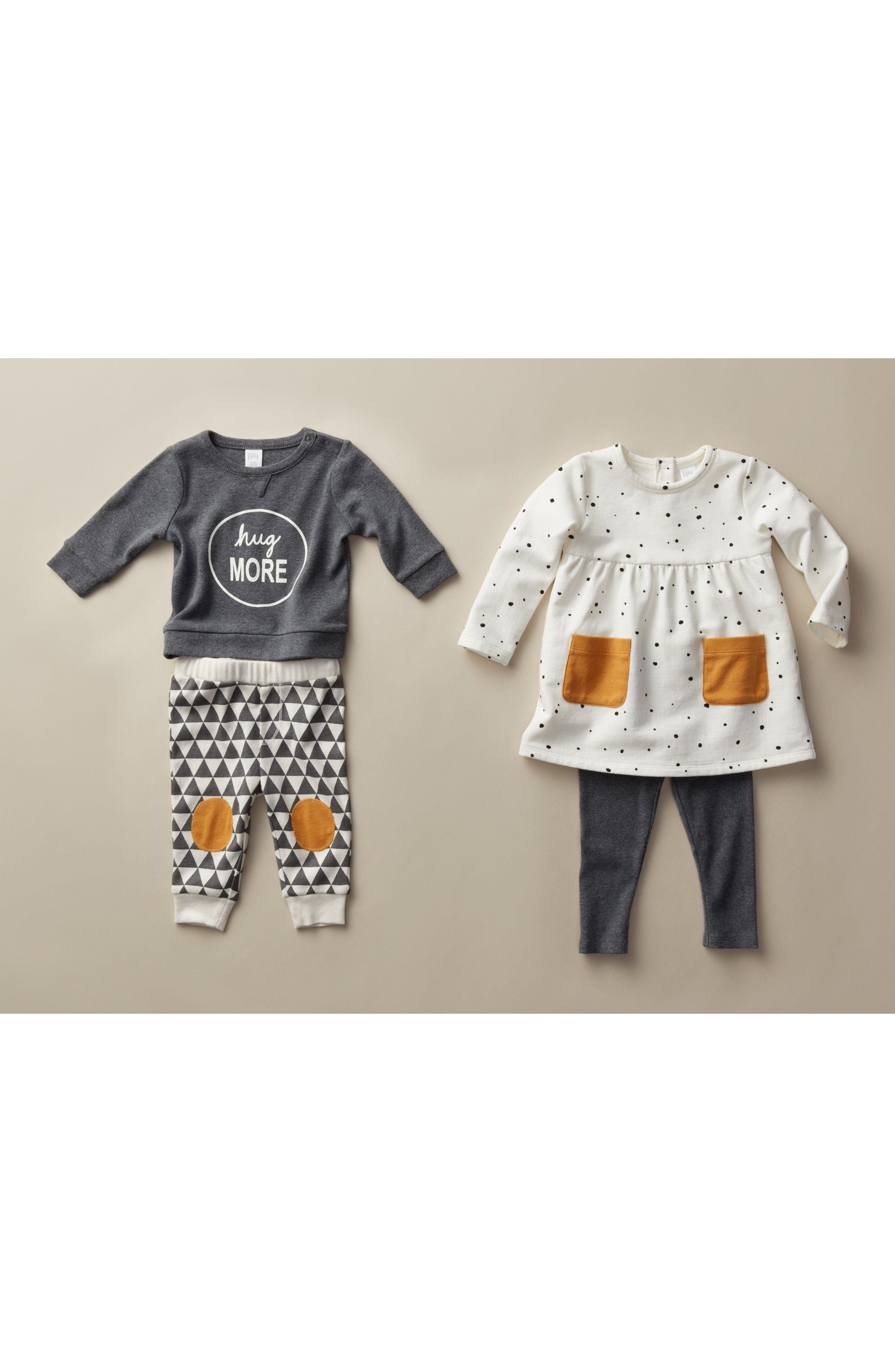 Alternate Image 4  - Nordstrom Baby Graphic T-Shirt & Pants Set (Baby)