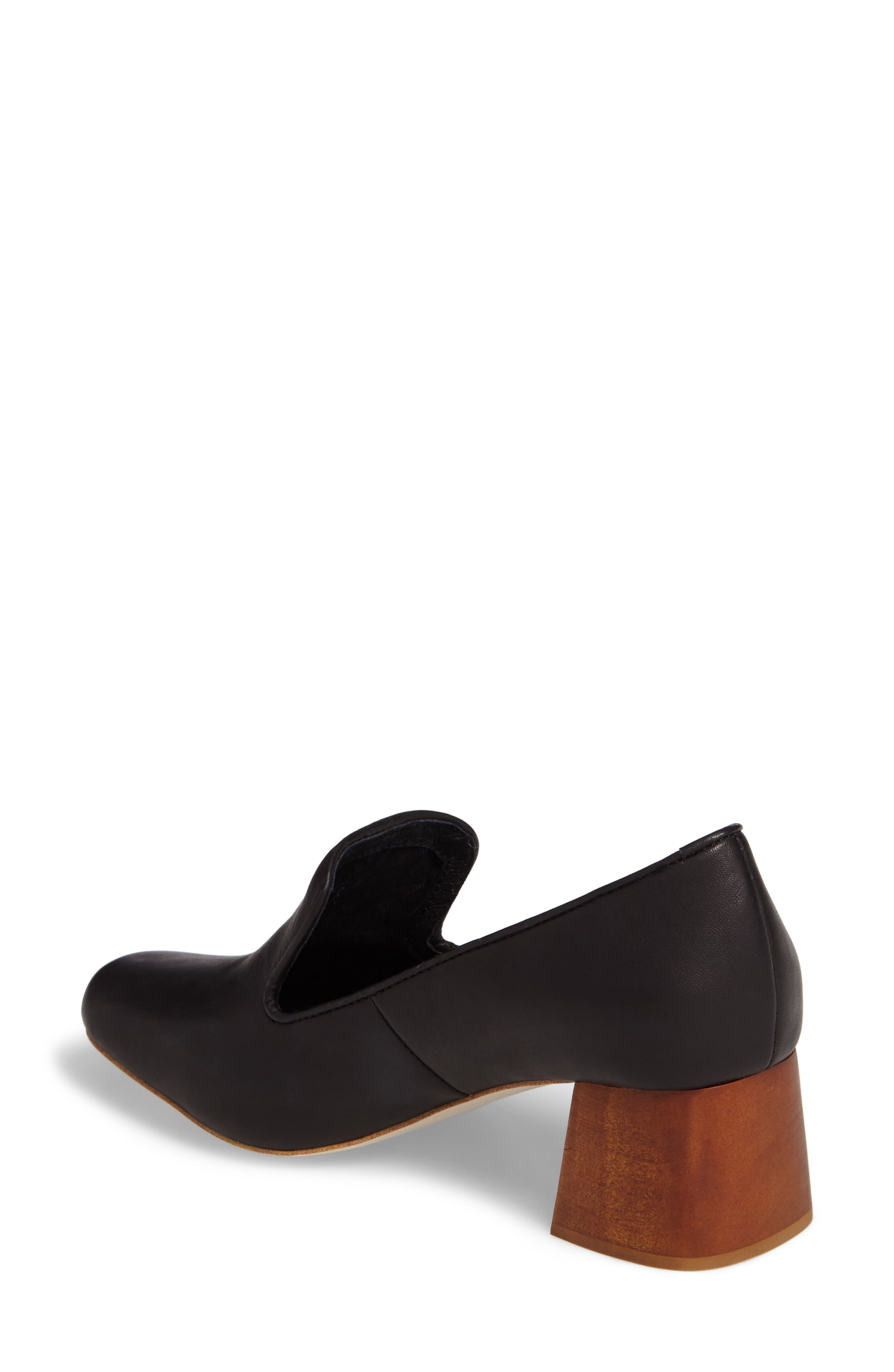 Alternate Image 2  - Jeffrey Campbell Lister Flared Heel Loafer Pump (Women)