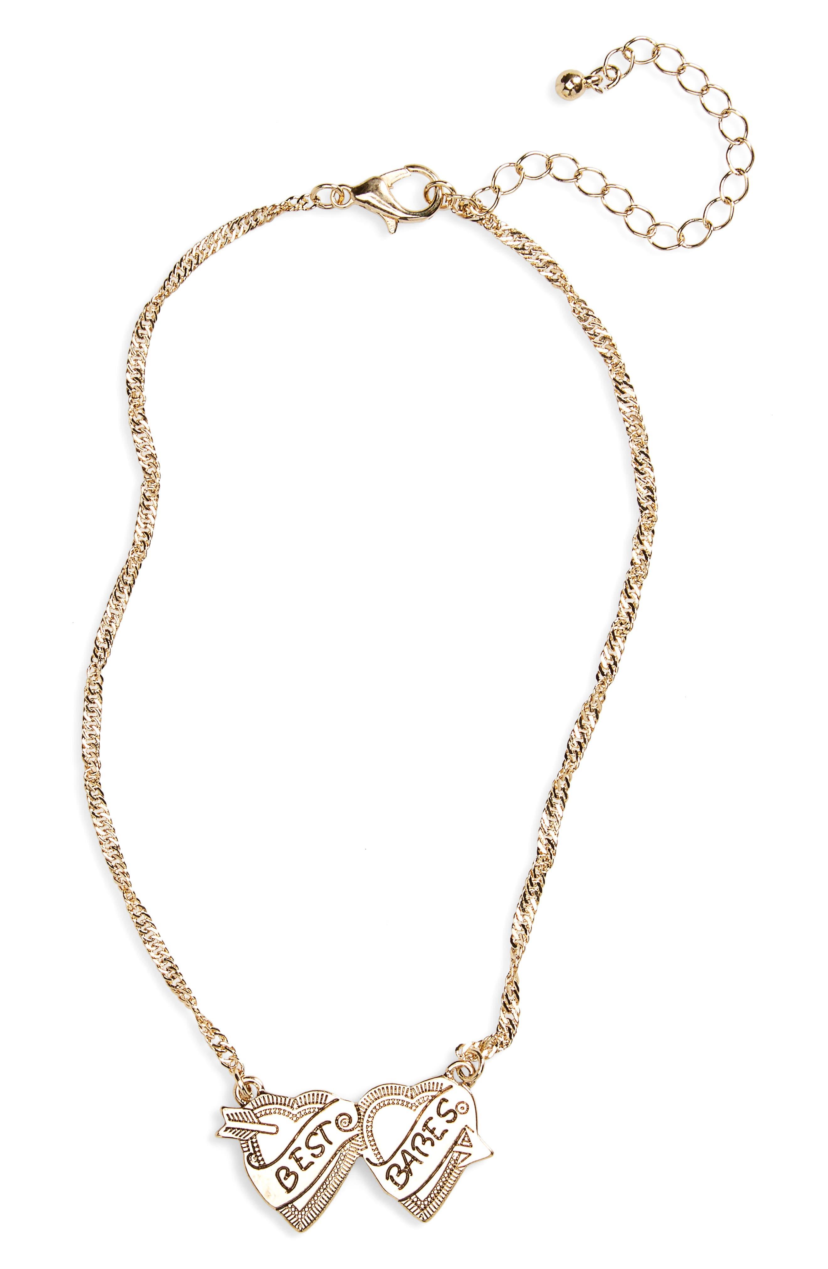 BP. Best Babes Pendant Necklace