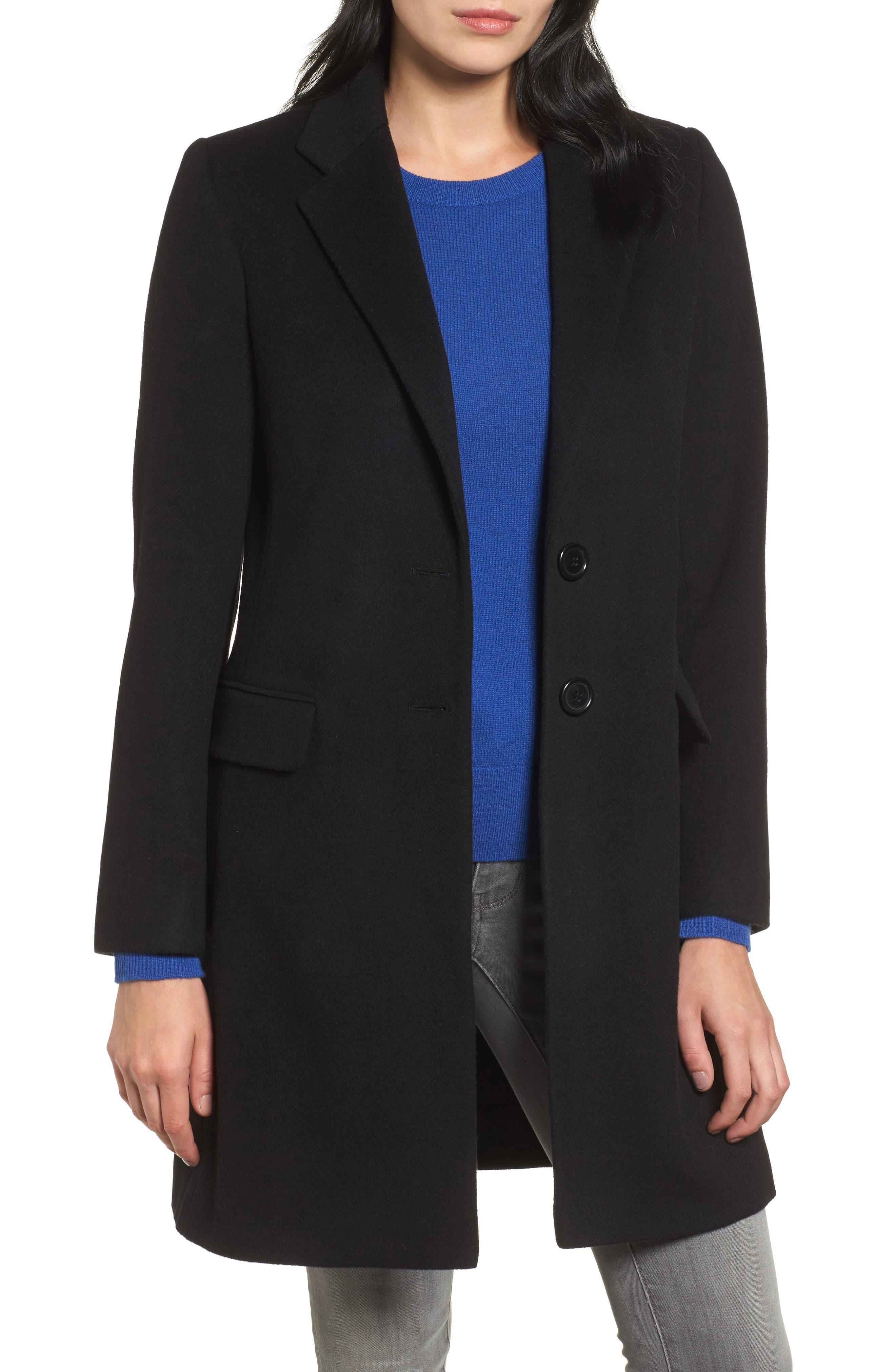 Alternate Image 1 Selected - Charles Gray London Wool Blend College Coat