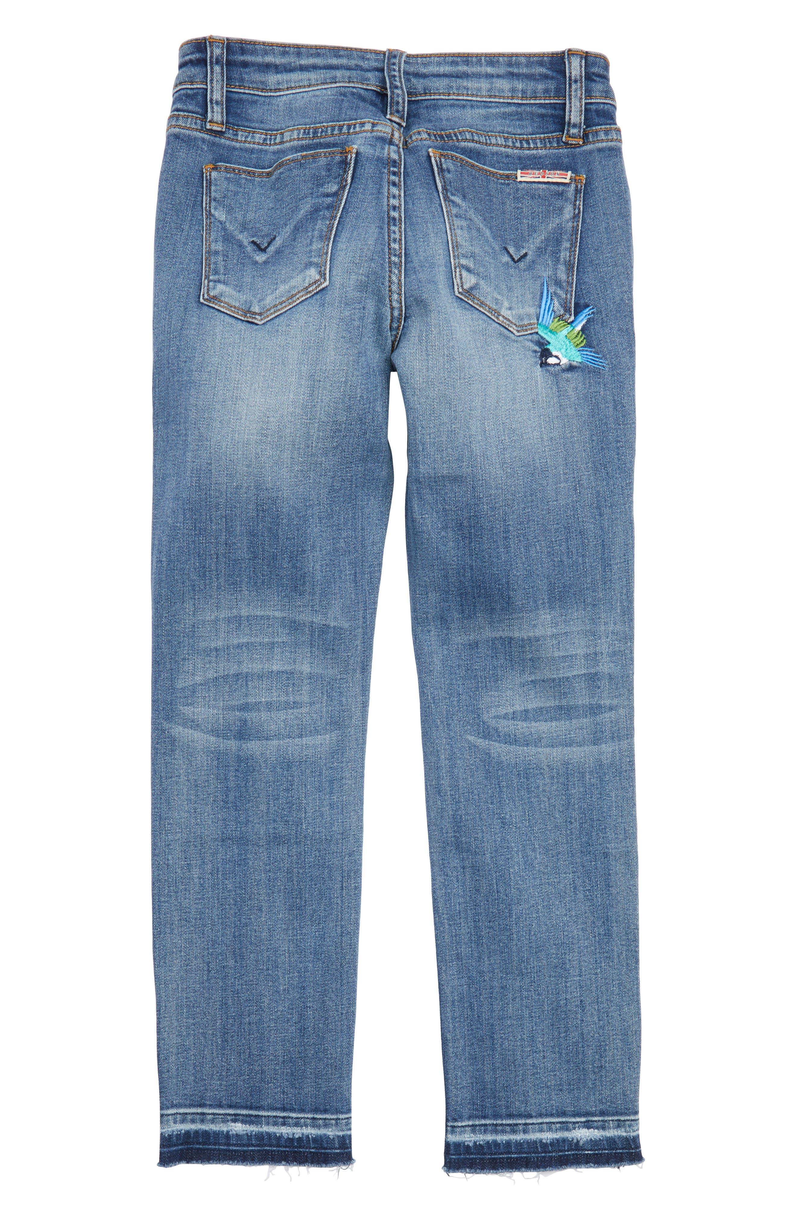 Freebird Girlfriend Jeans,                             Alternate thumbnail 2, color,                             Hippie Heaven