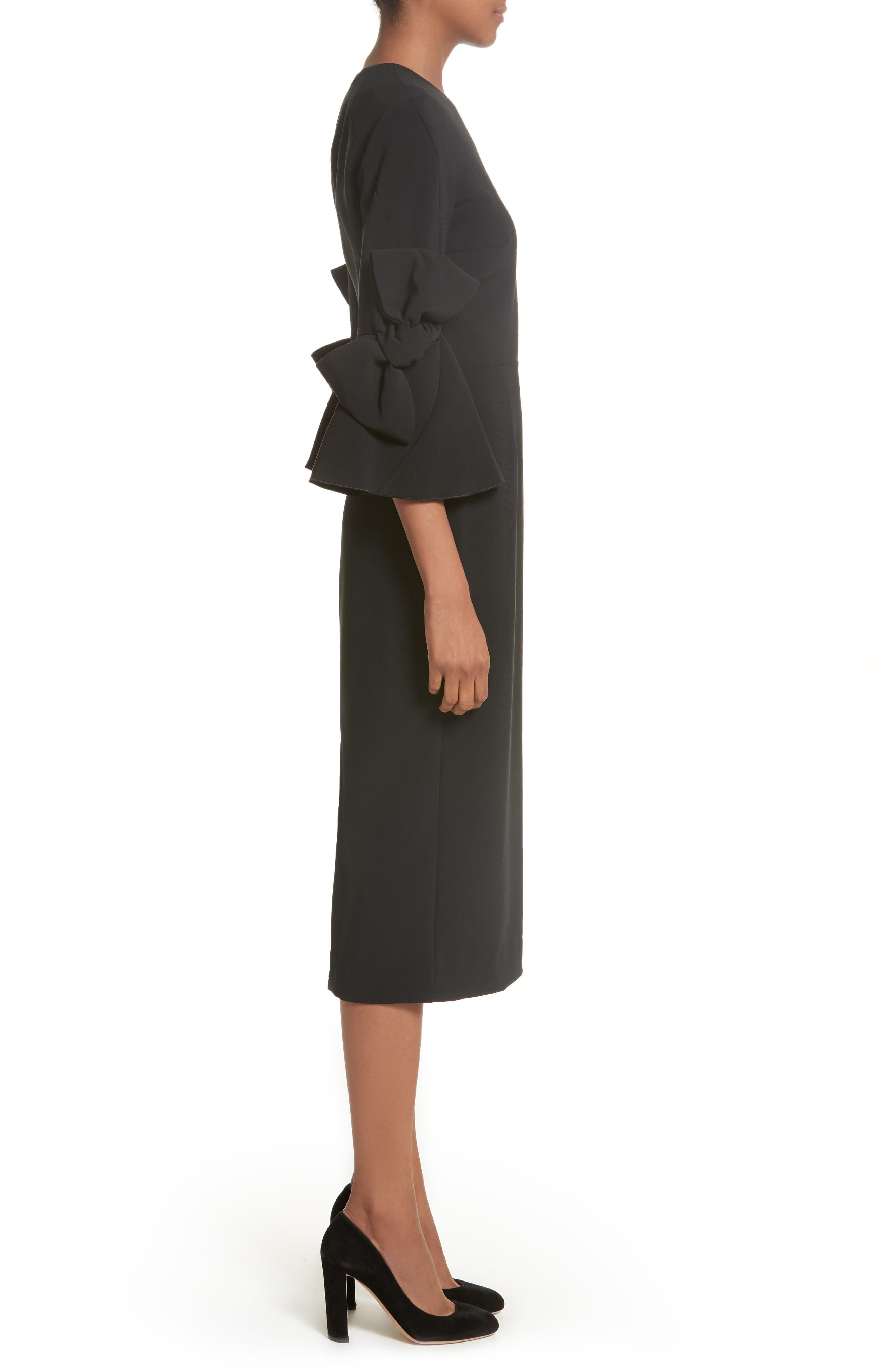 Alternate Image 3  - Roksanda Lavete Stretch Crepe Midi Dress