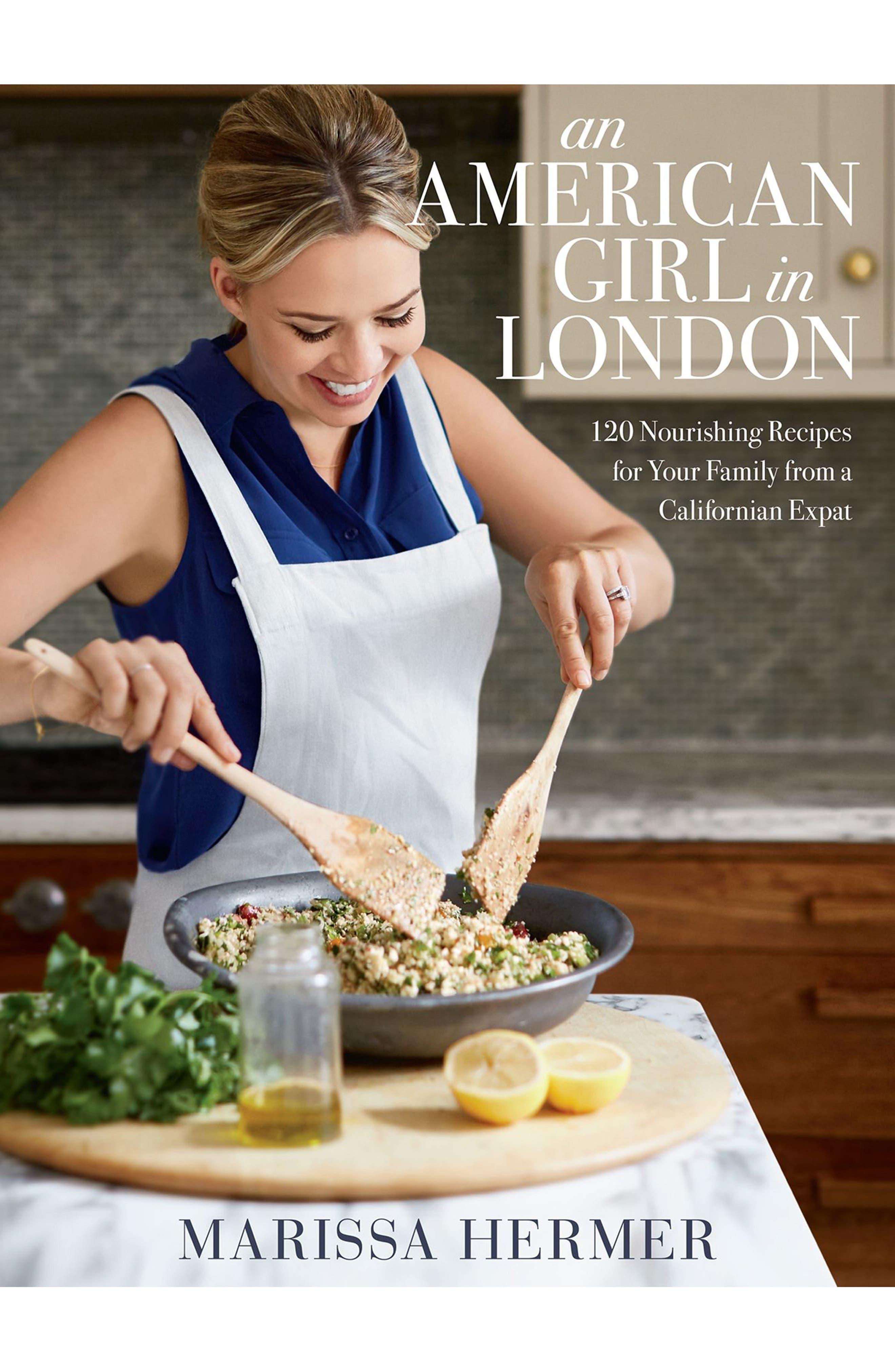 An American Girl in London Cookbook