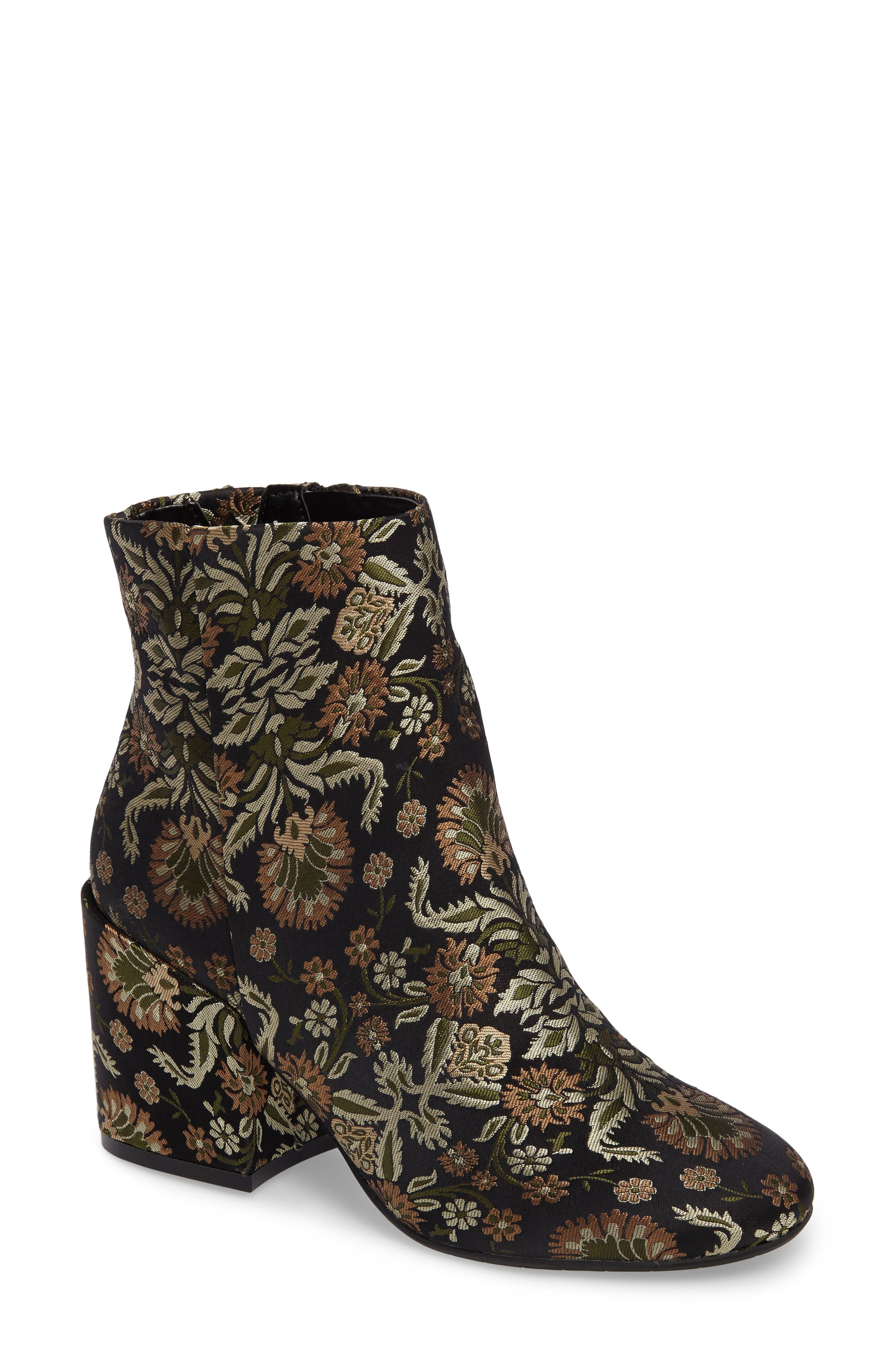 KENNETH COLE NEW YORK Reeve 4 Floral Appliqué Bootie