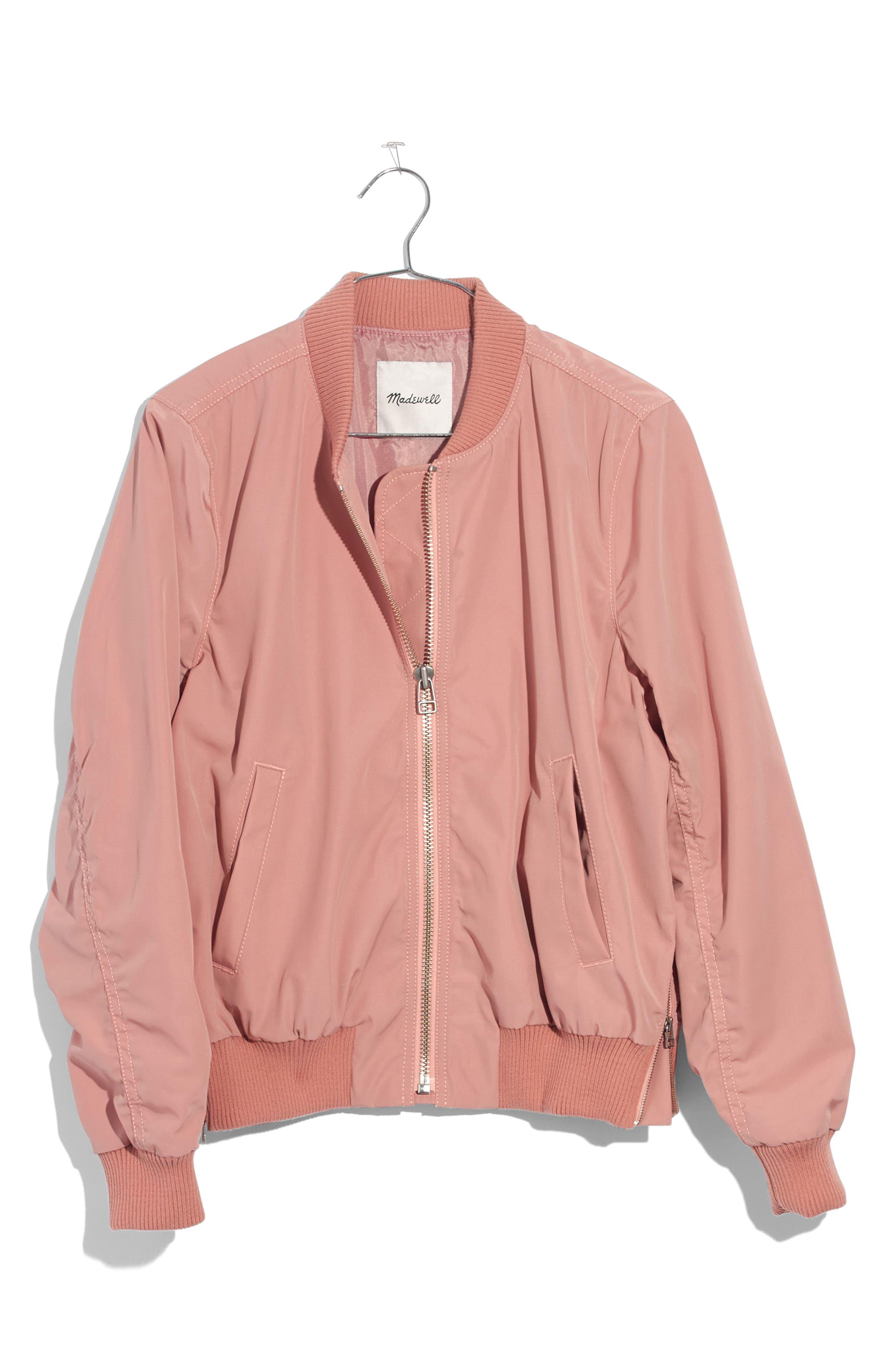 Madewell Side Zip Bomber Jacket