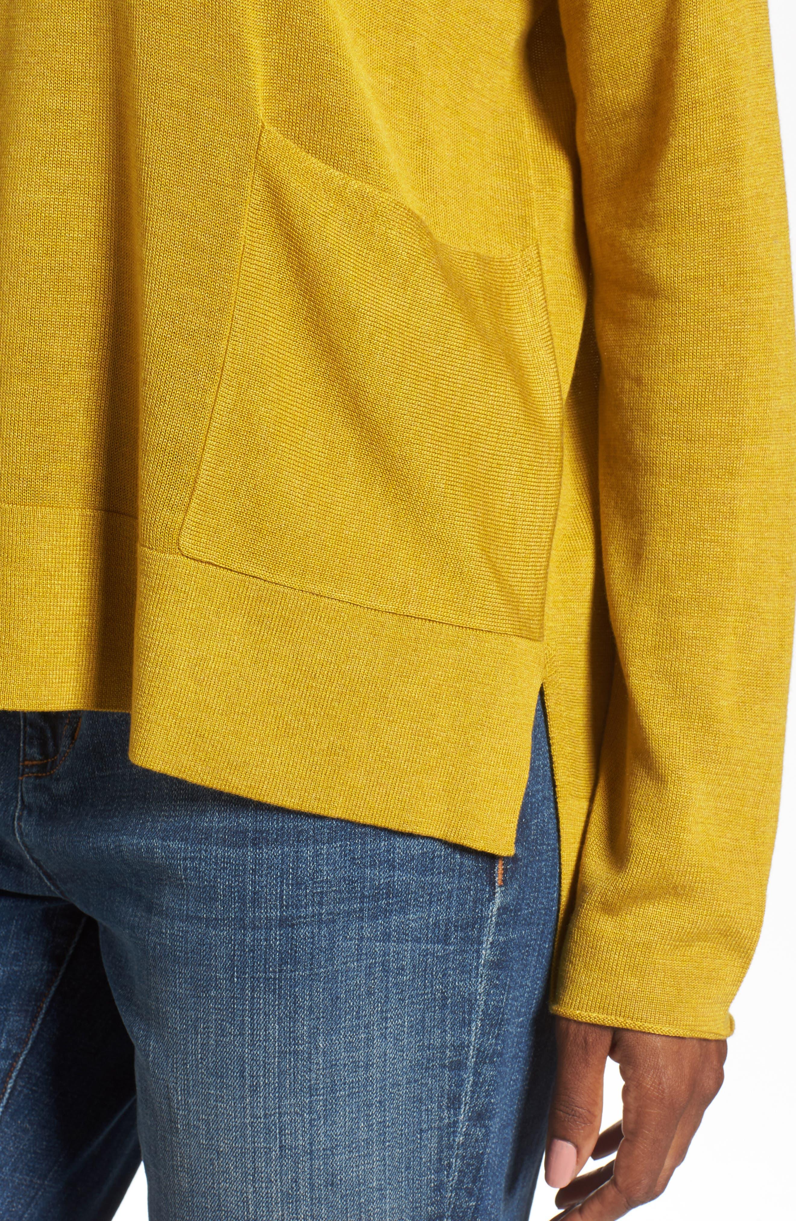 Alternate Image 4  - Eileen Fisher Tencel® Blend Sweater