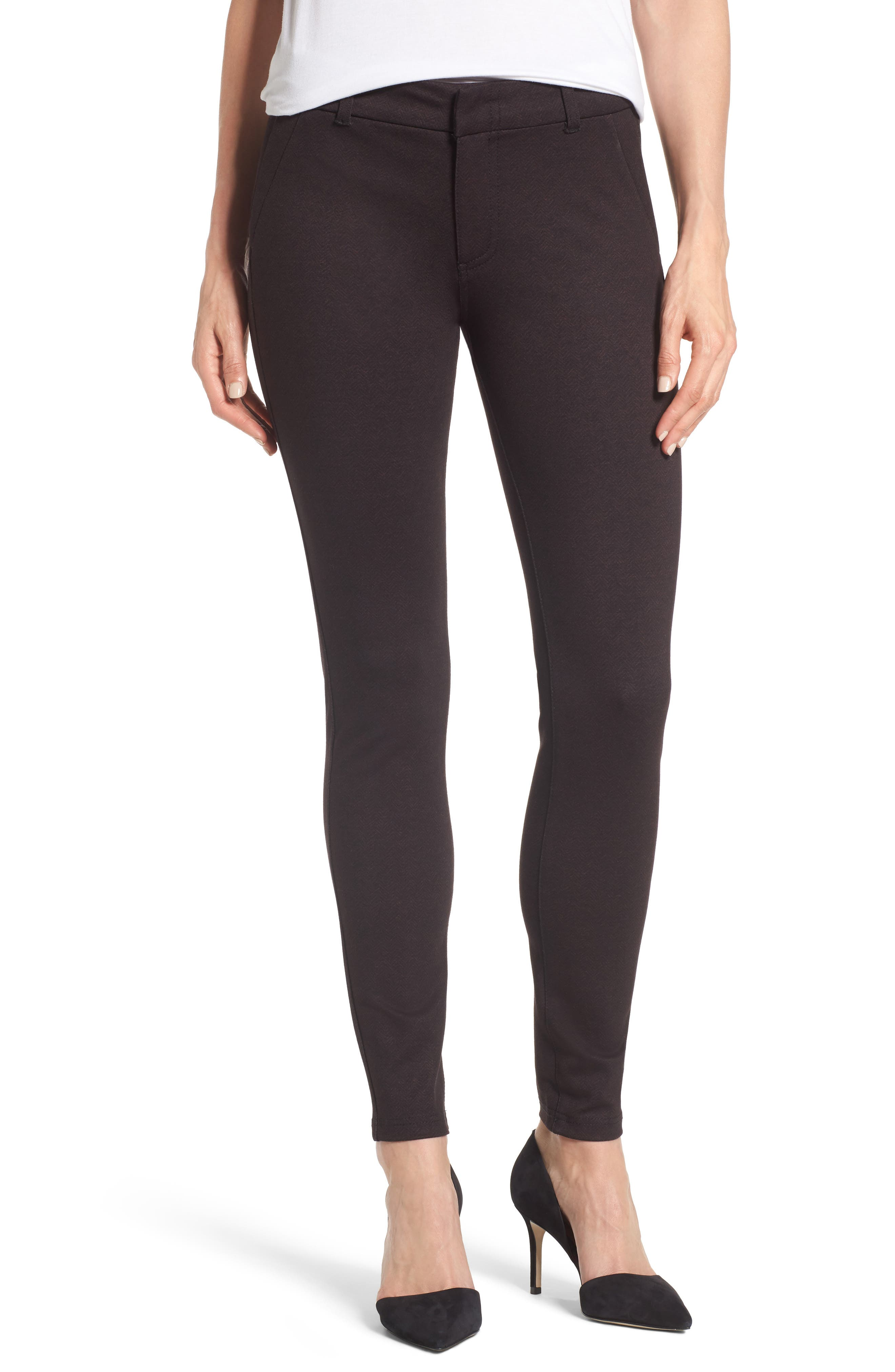 Alternate Image 1 Selected - KUT from the Kloth Mia Print Ankle Skinny Pants
