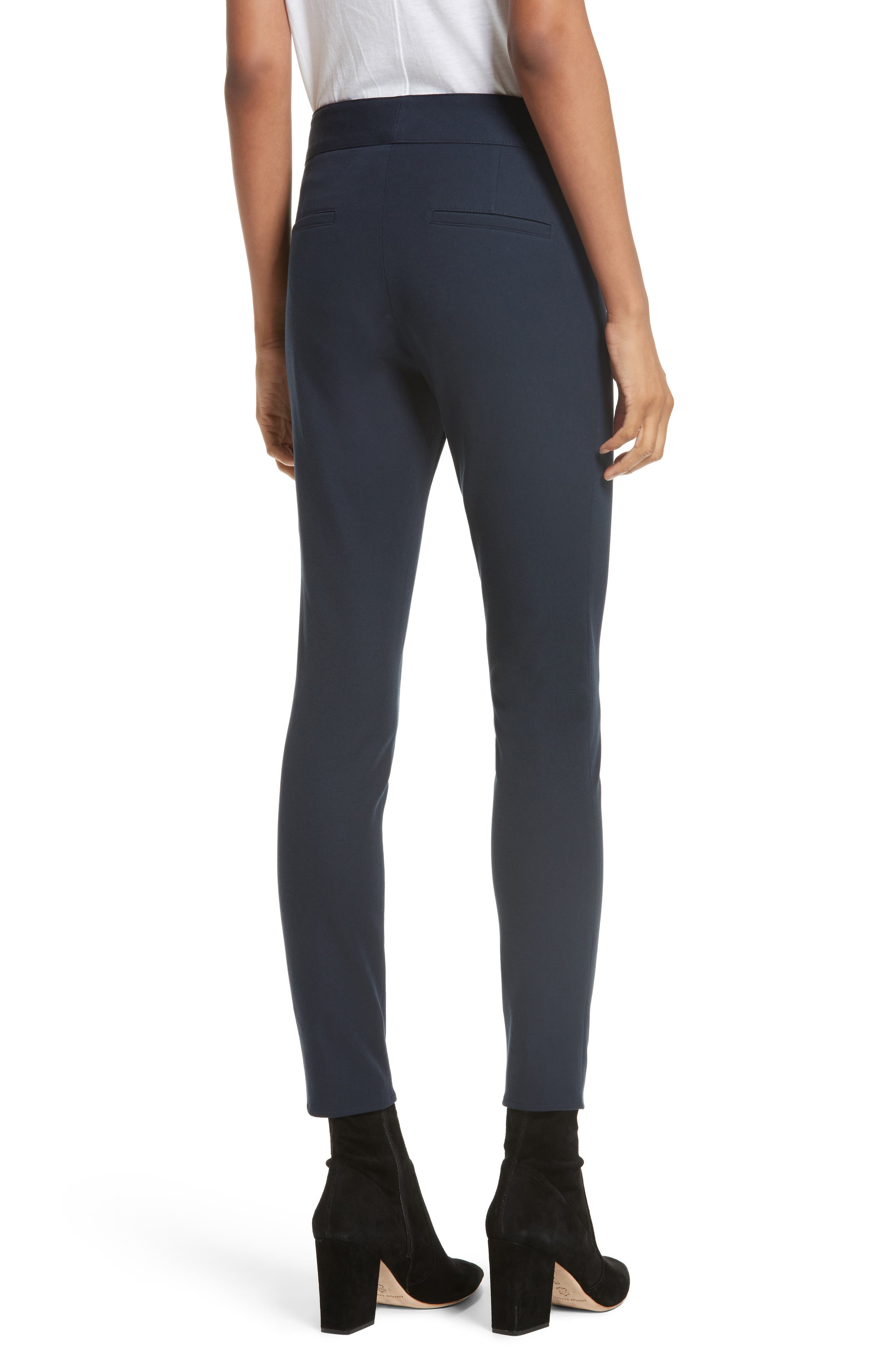 Ankle Skinny Pants,                             Alternate thumbnail 2, color,                             Navy