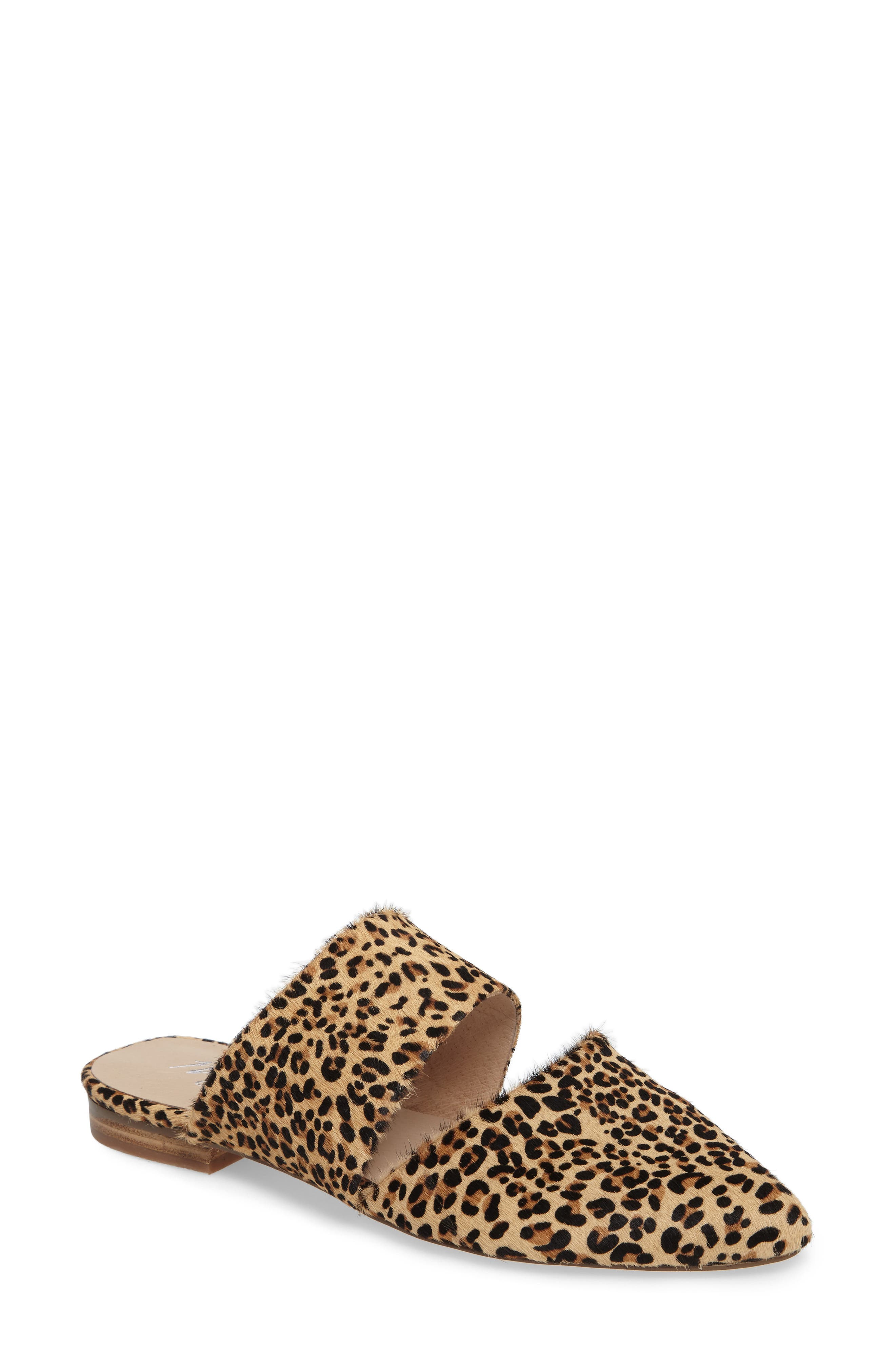Berlin Mule,                         Main,                         color, Leopard Cowhide