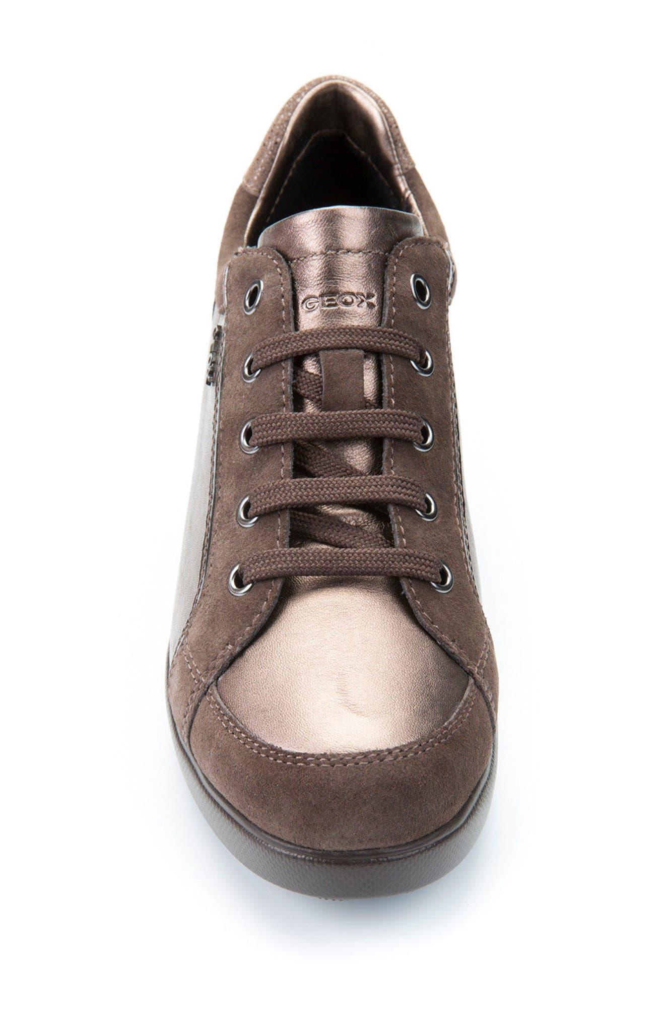 Alternate Image 4  - Geox Stardust Wedge Sneaker (Women)