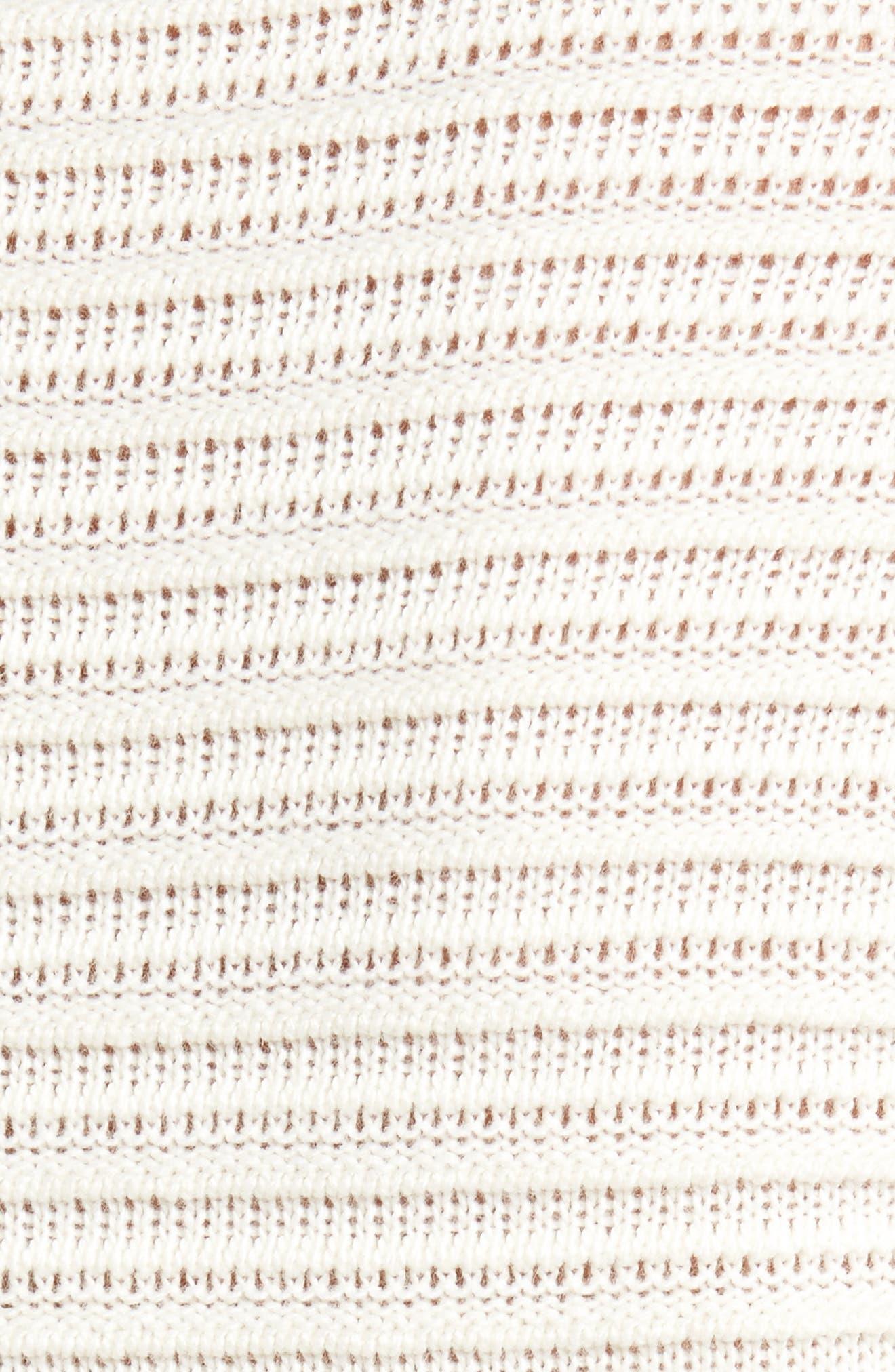 Alternate Image 6  - Barbour Linton Open Stitch Sweater