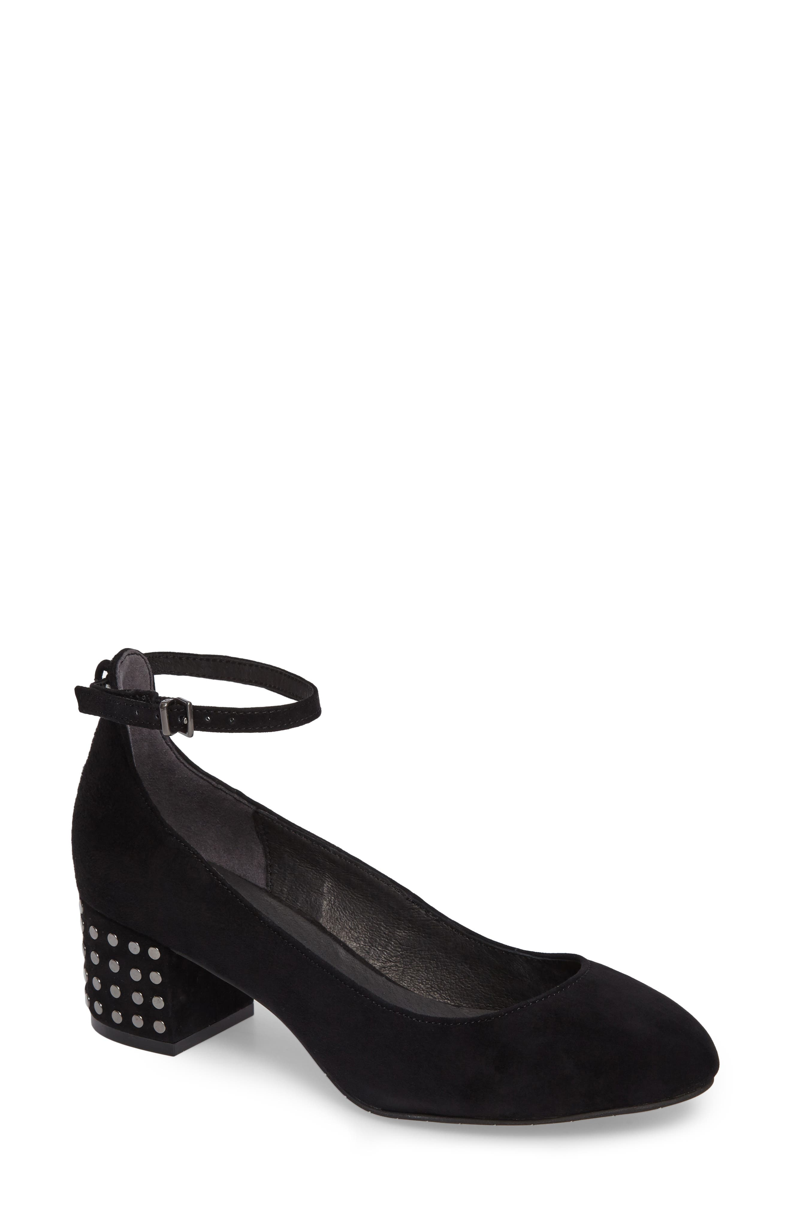 Kenneth Cole New York Thalia Studded Ankle Strap Pump (Women)