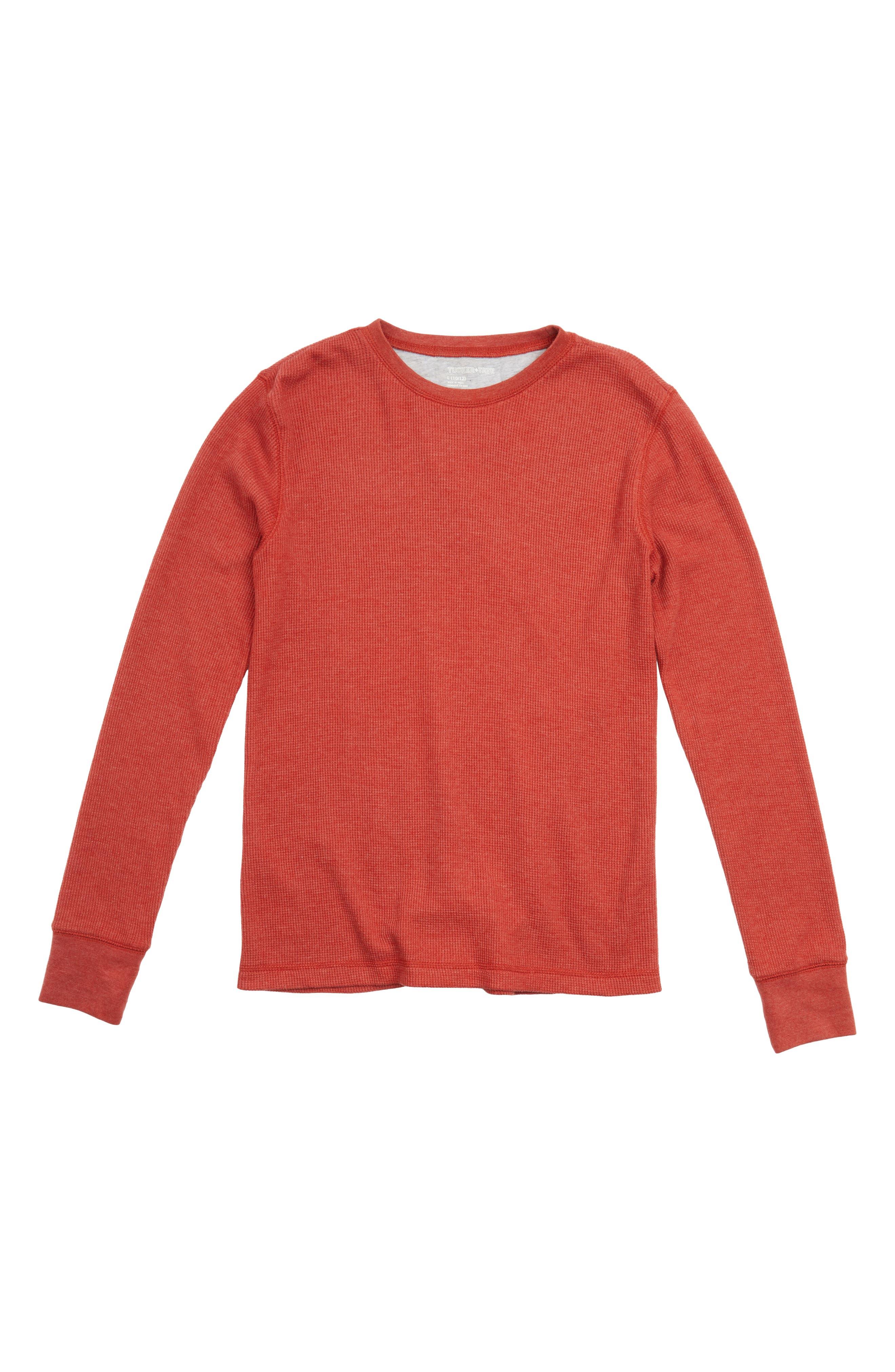Tucker + Tate Long Sleeve Thermal T-Shirt (Big Boys)