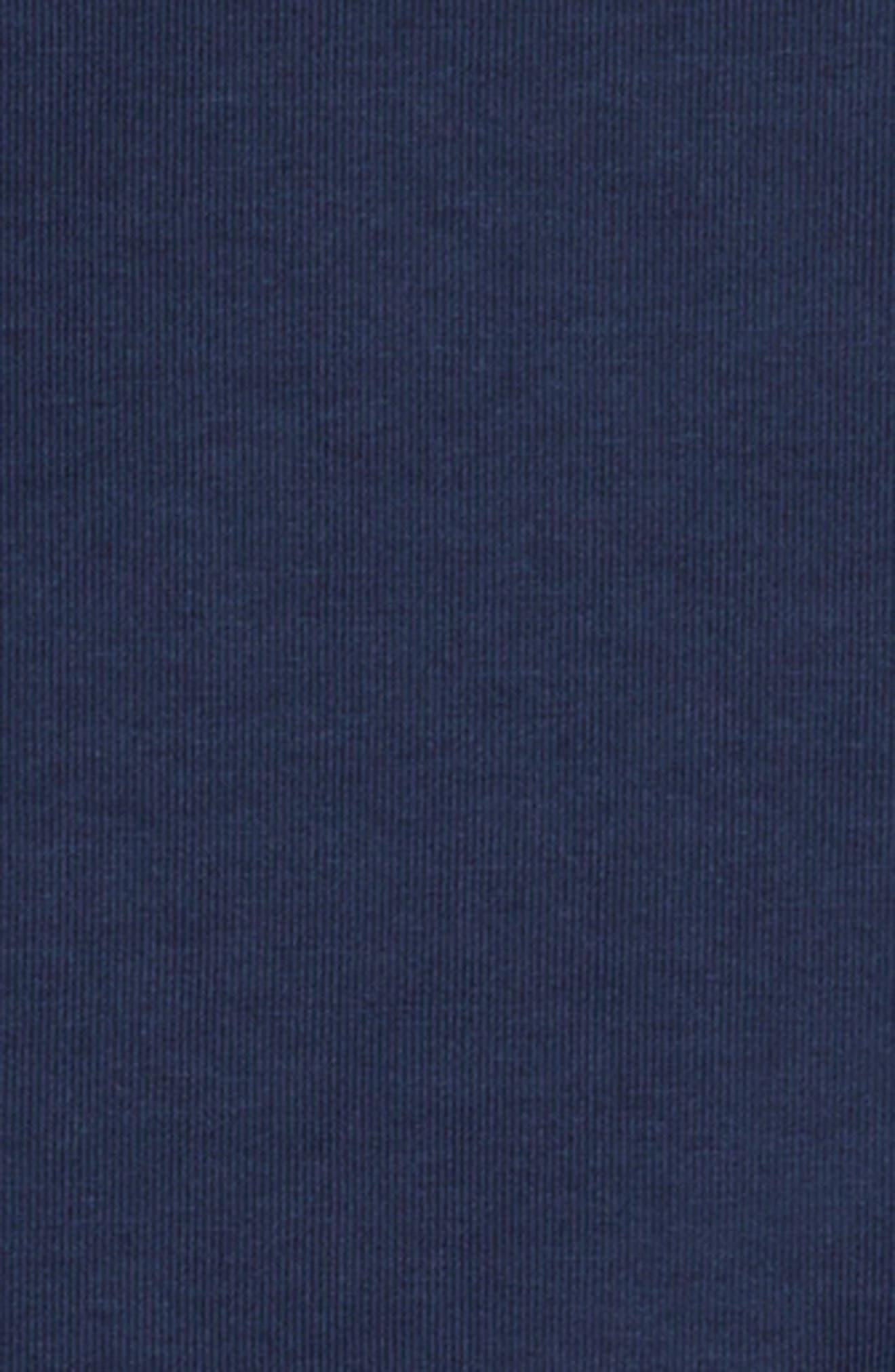 Colorblock Raglan Logo Sweatshirt,                             Alternate thumbnail 3, color,                             Obsidn/ White
