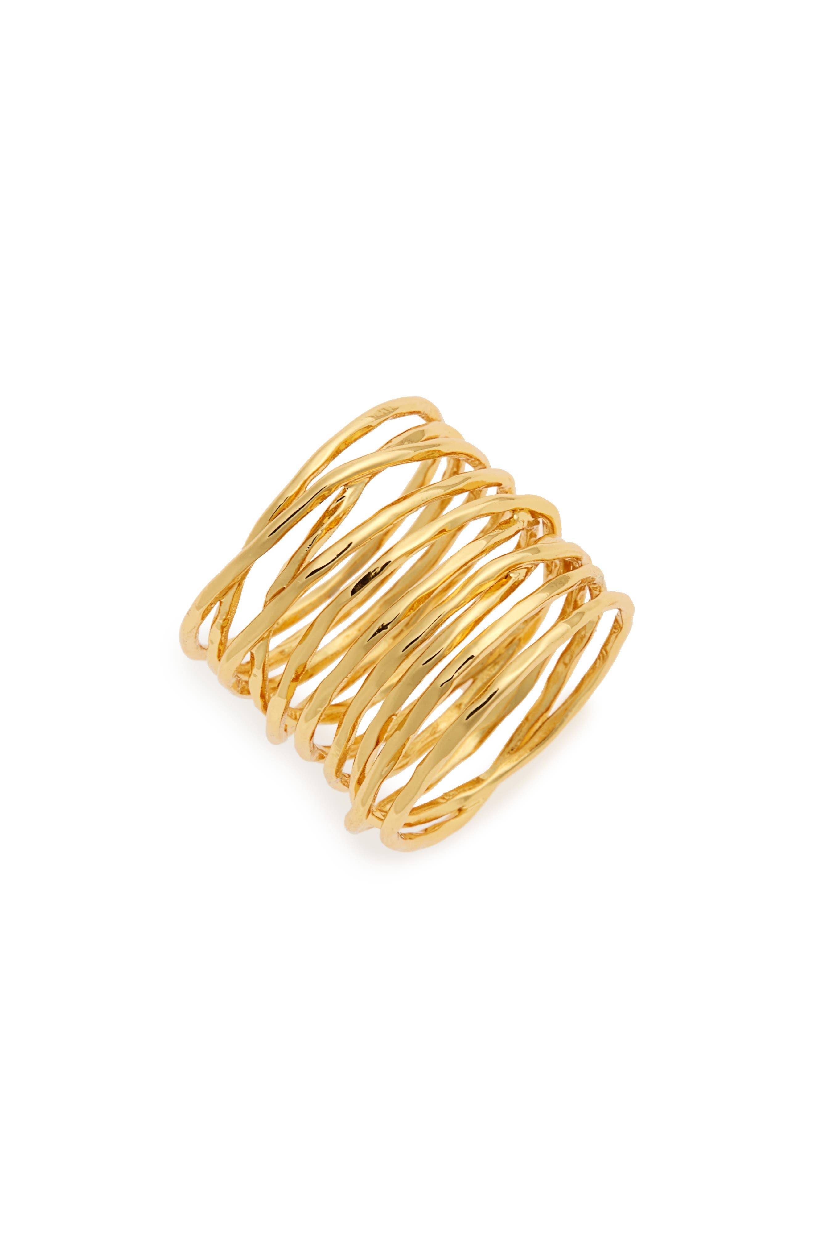Alternate Image 1 Selected - gorjana 'Lola' Coil Ring