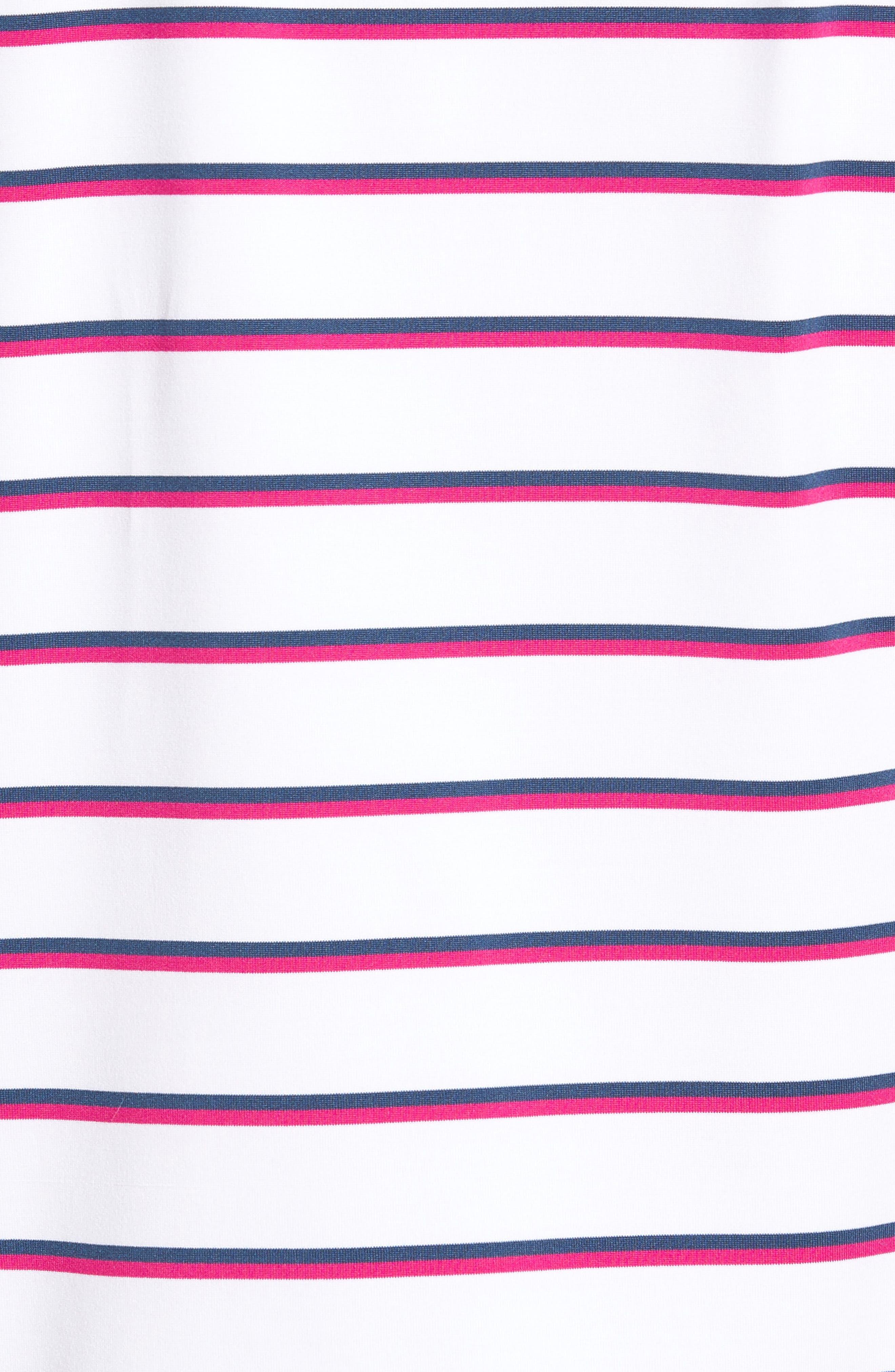 Eshman Stripe Polo,                             Alternate thumbnail 5, color,                             White Cap