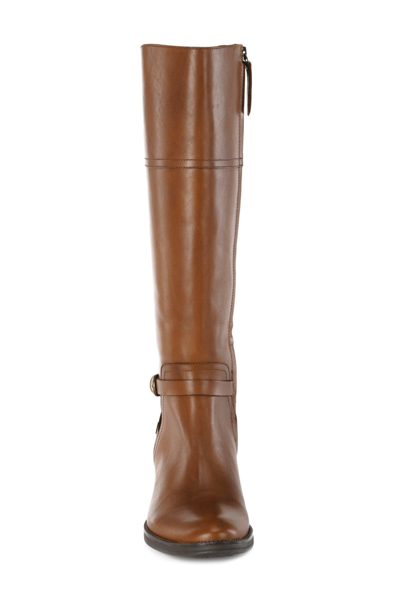 Mendin ABX Waterproof Riding Boot,                             Alternate thumbnail 4, color,                             Brown Leather