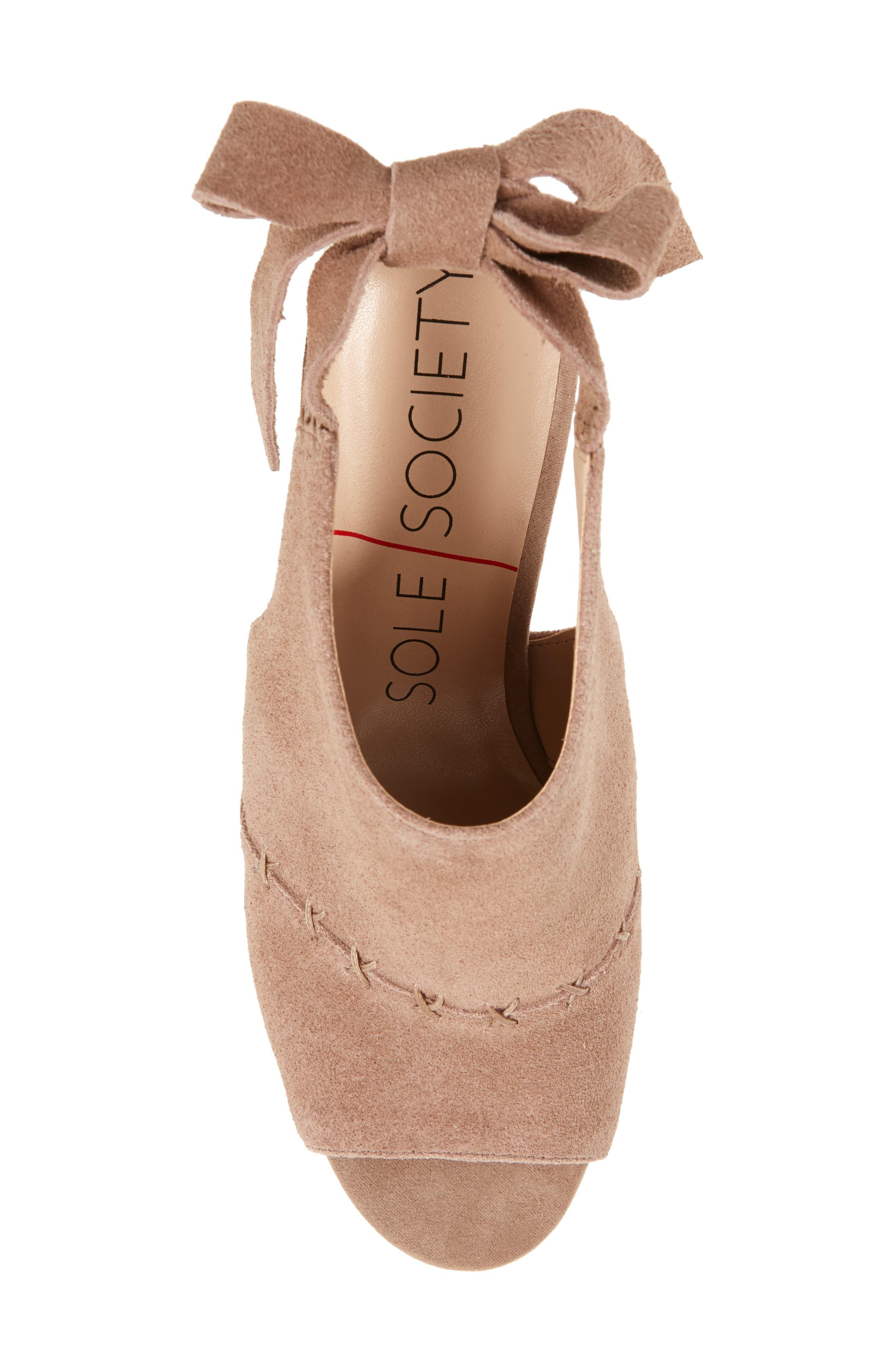 Alternate Image 5  - Sole Society Albany Slingback Sandal (Women)
